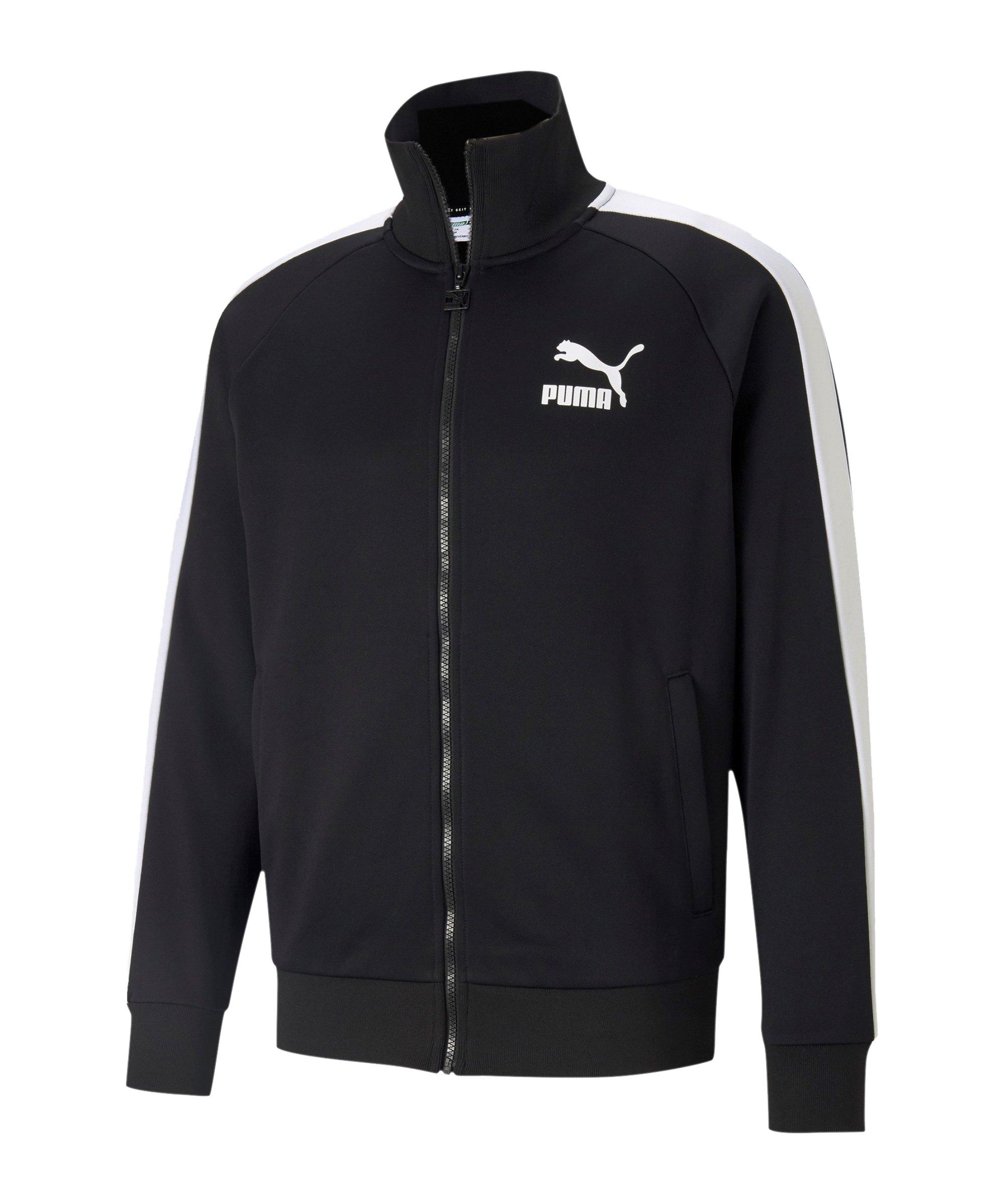 PUMA Iconic T7 Jacke Schwarz F01 - schwarz
