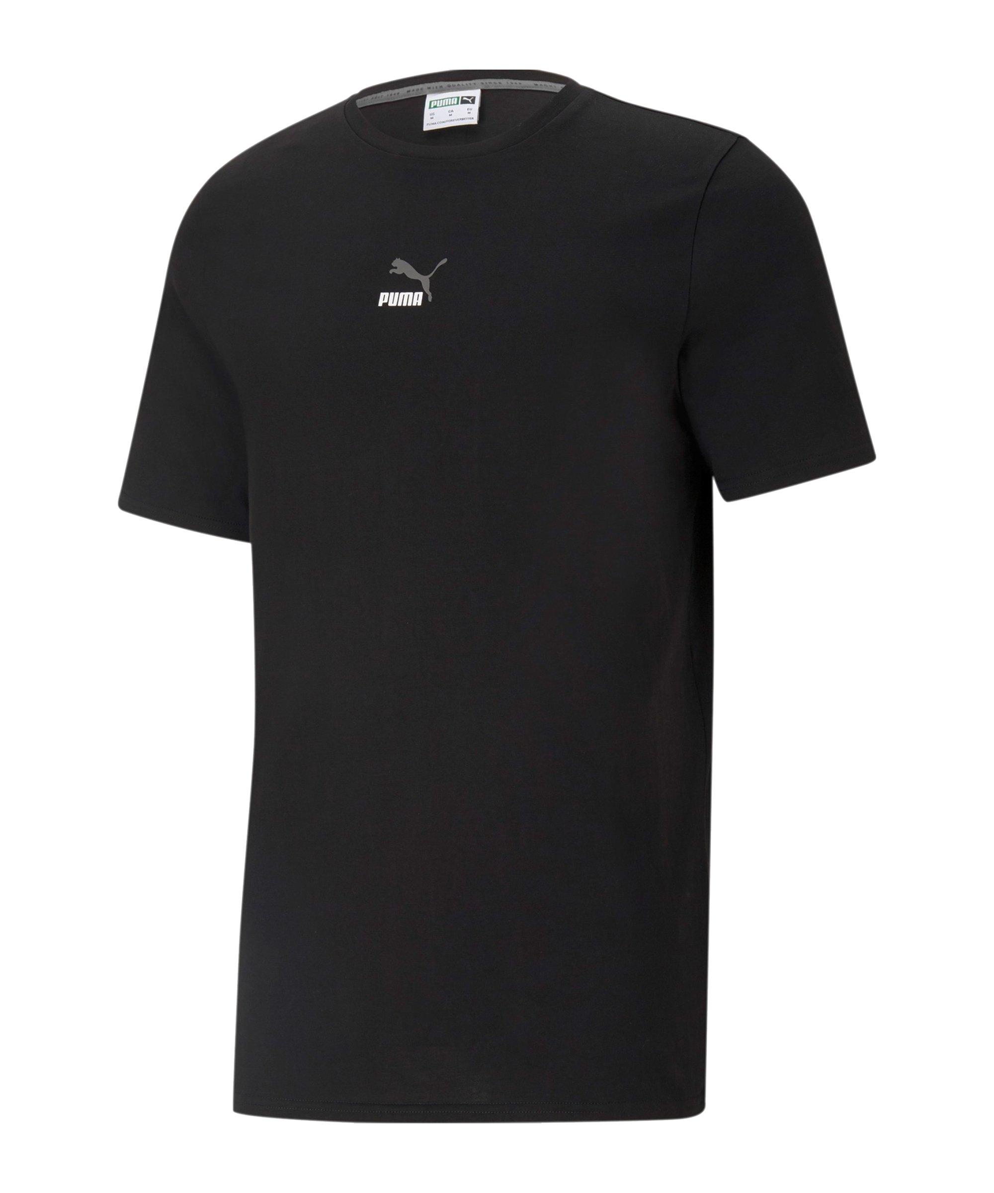 PUMA ELEVATE Tape T-Shirt Schwarz F01 - schwarz