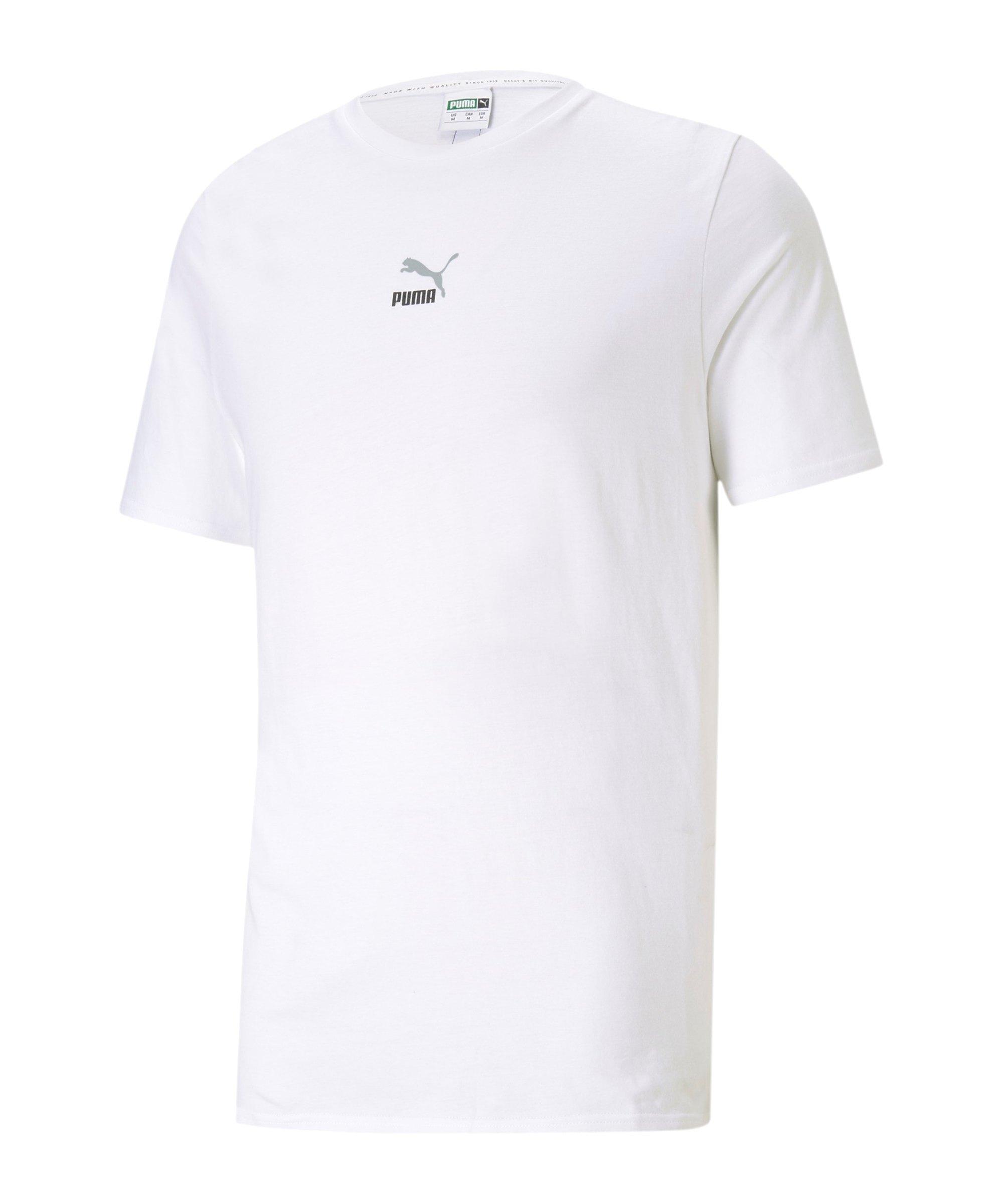 PUMA ELEVATE Tape T-Shirt Weiss F02 - weiss