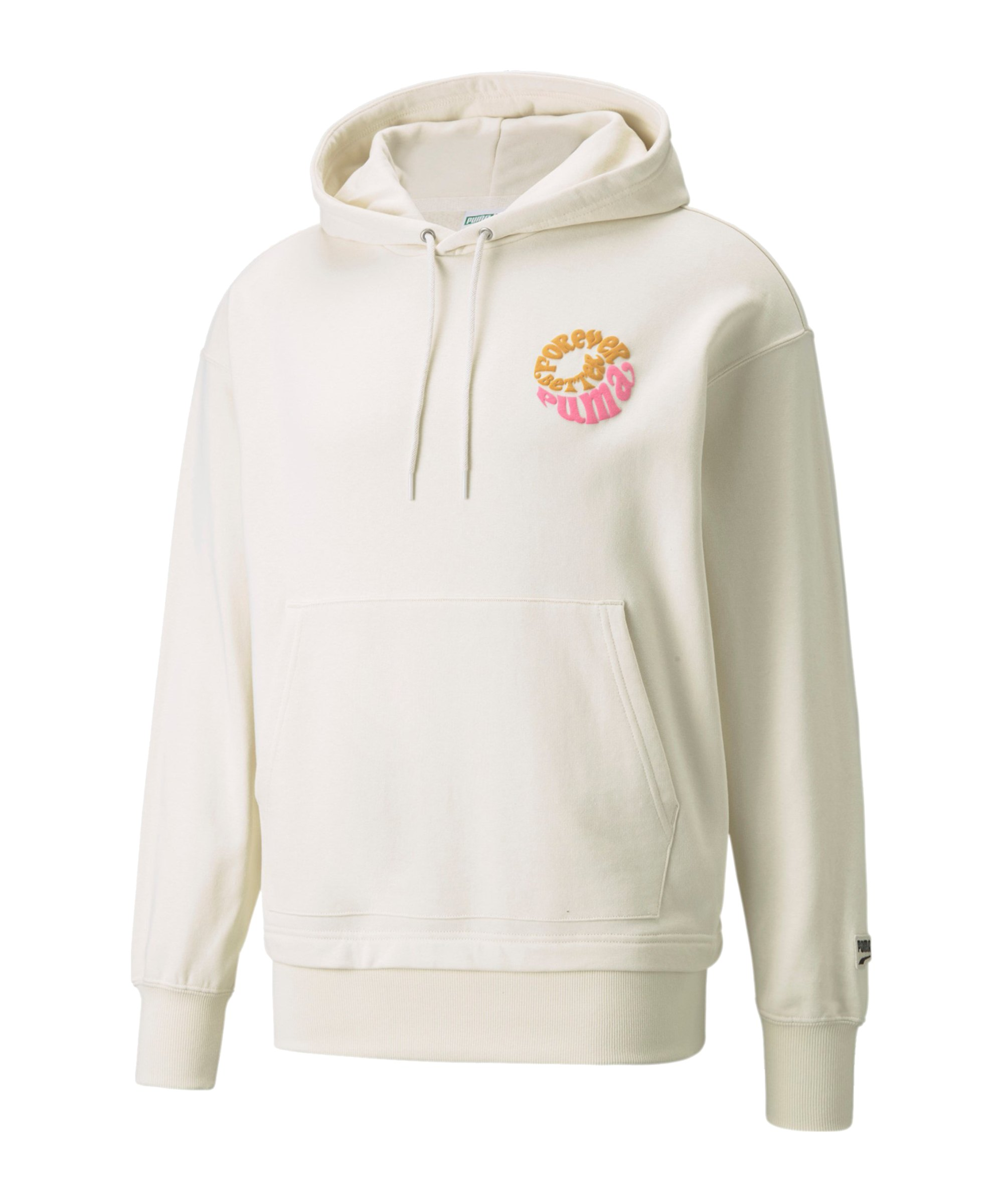 PUMA Downtown Graphic Hoody Weiss F73 - weiss