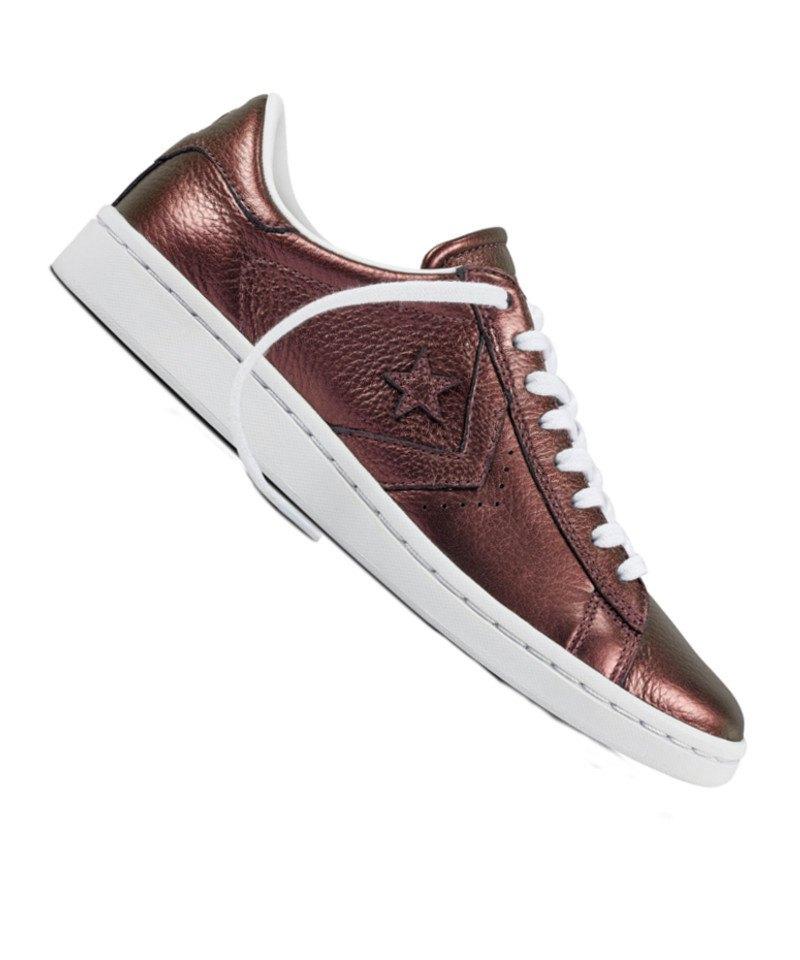 Converse Pro Leather LP OX Sneaker Damen F222 - rot