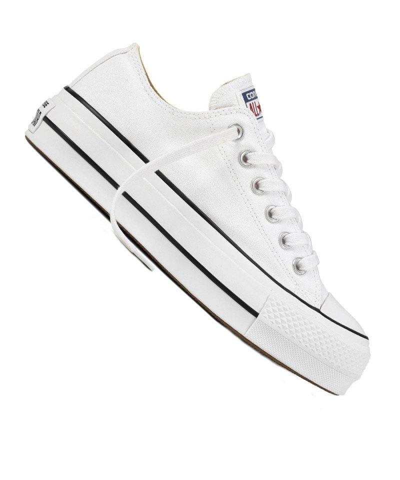 Converse Chuck Taylor AS Lift OX Damen Weiss F102 - weiss