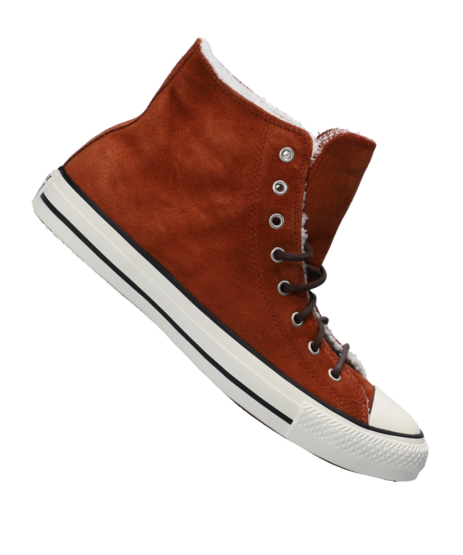 Converse Chuck Taylor AS High Sneaker Damen Rot - braun