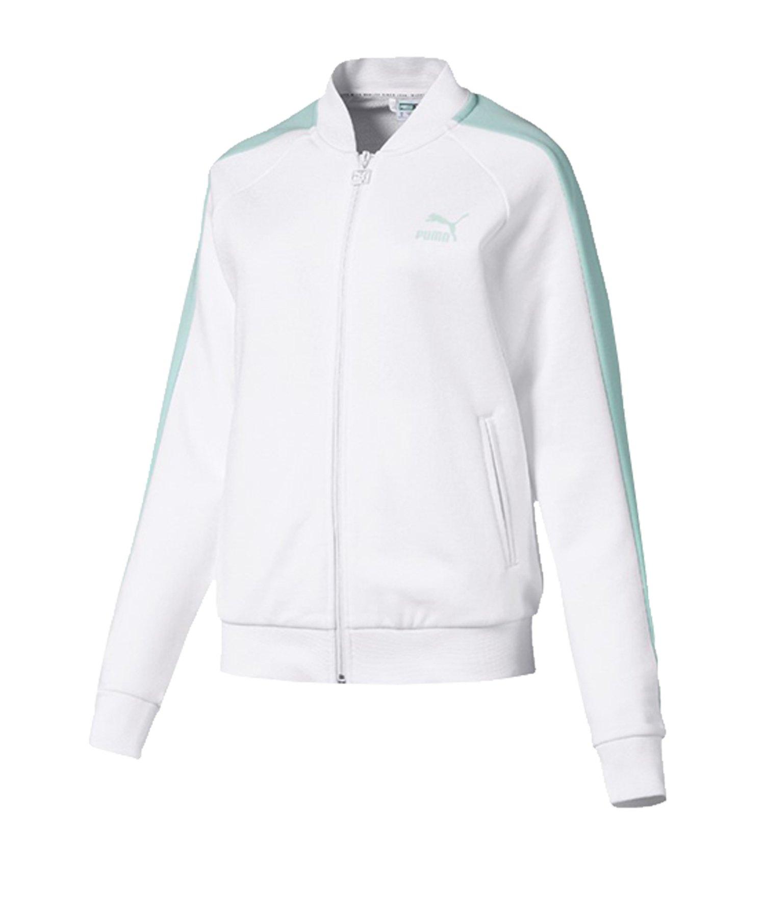 PUMA Classics T7 Track Jacket Jacke Damen F02 - weiss
