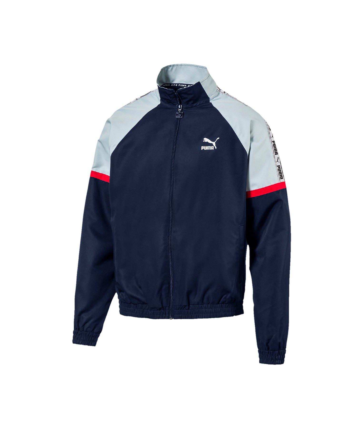 PUMA XTG Woven Jacket Jacke Blau F06 - blau