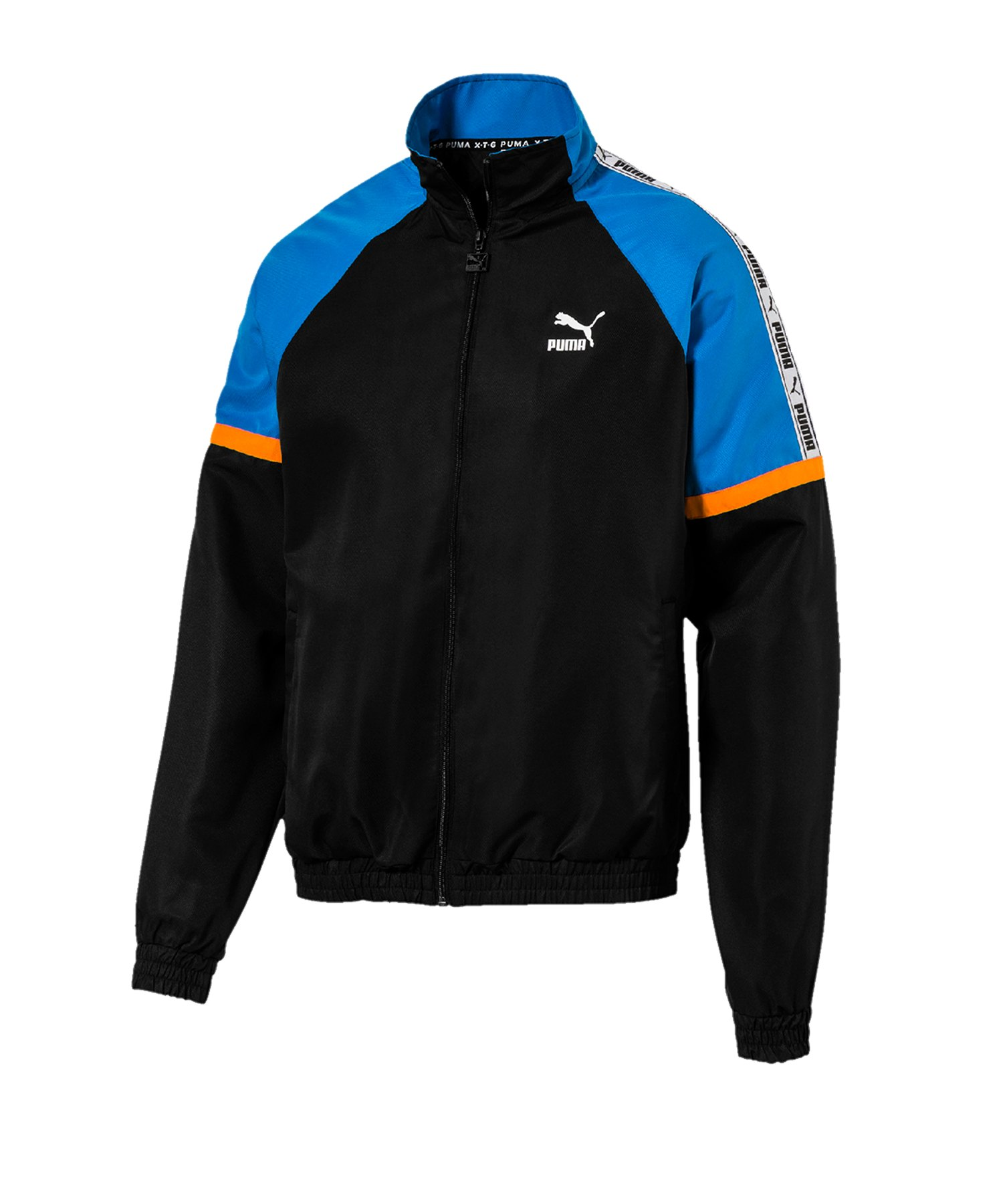 PUMA XTG Woven Jacket Jacke Schwarz F01 - schwarz