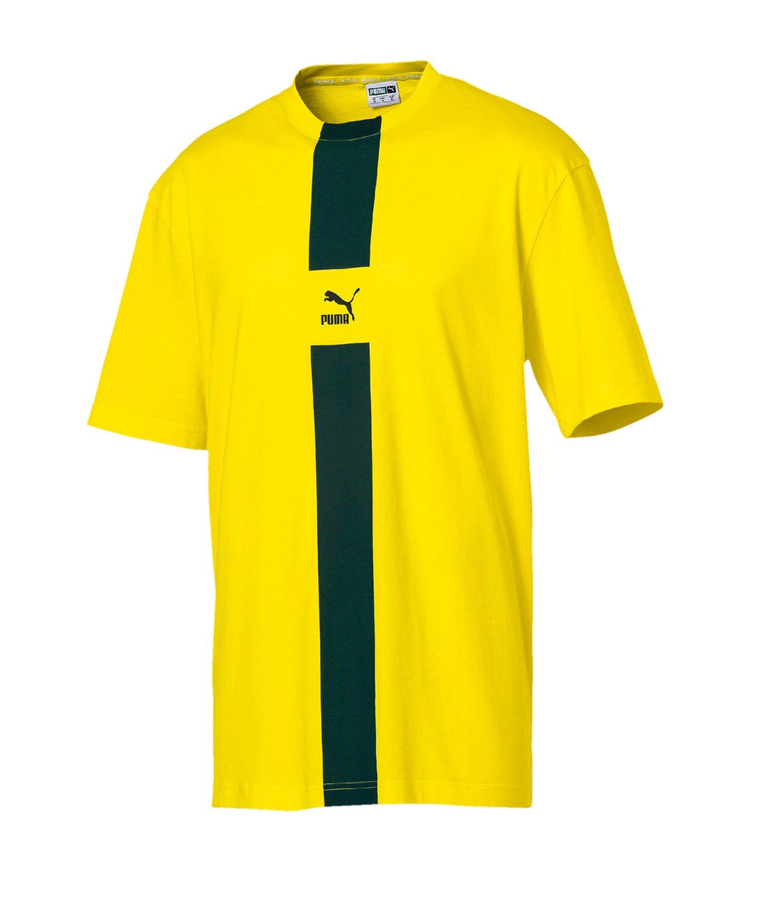 PUMA XTG Tee T-Shirt Gelb F36 - gelb