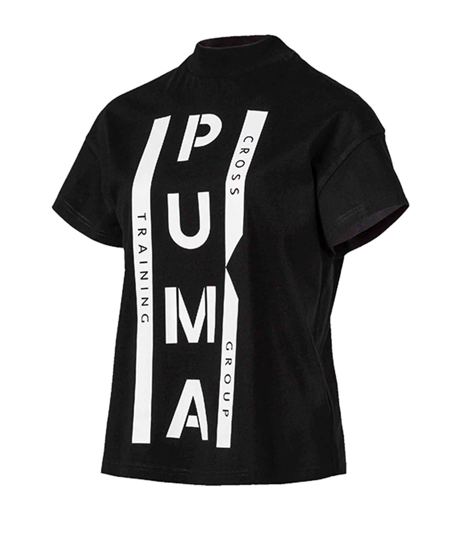 PUMA XTG Graphic Tee T-Shirt Damen Schwarz F01 - schwarz