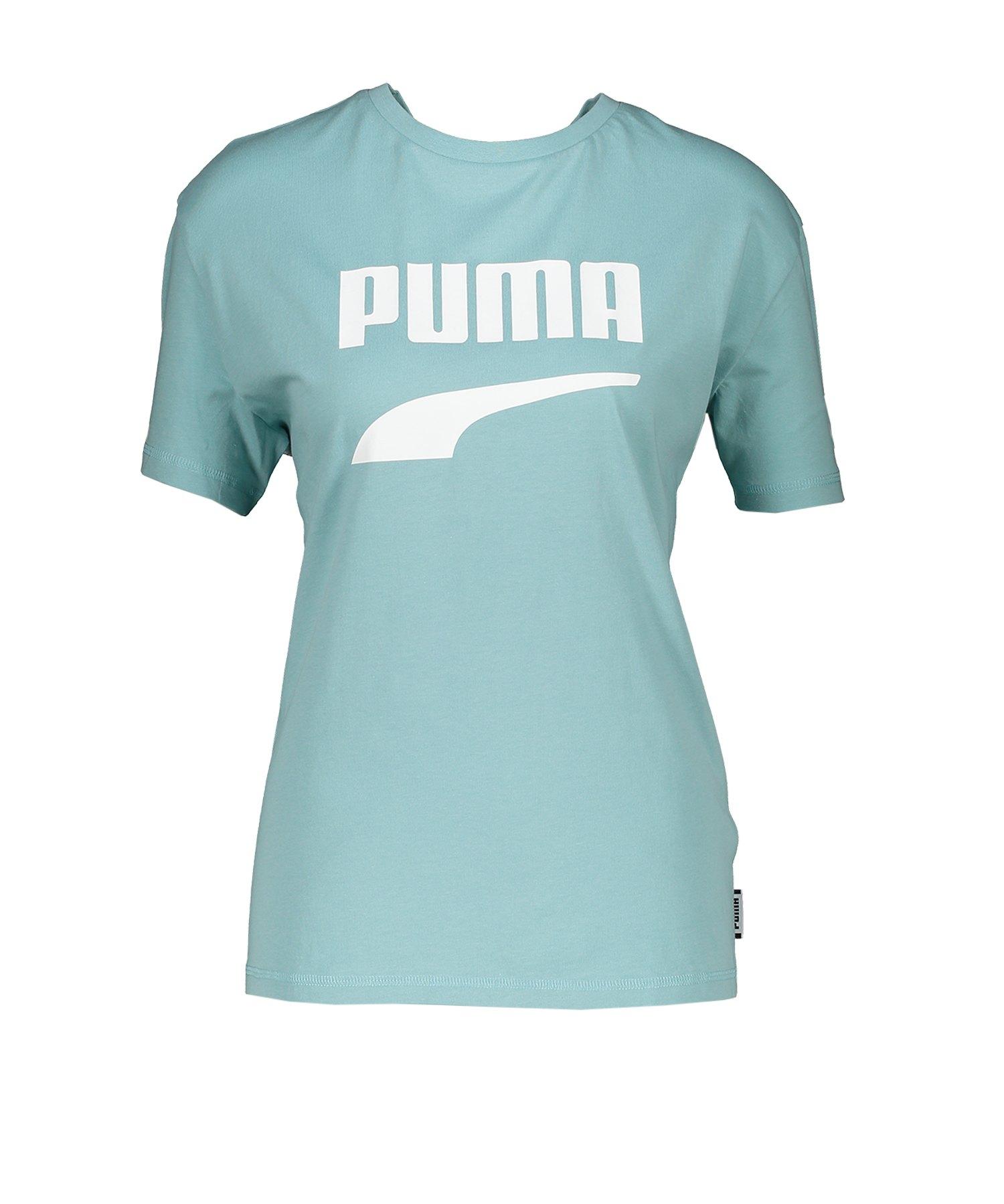 PUMA Downtown Tee T-Shirt Damen Türkis F34 - tuerkis