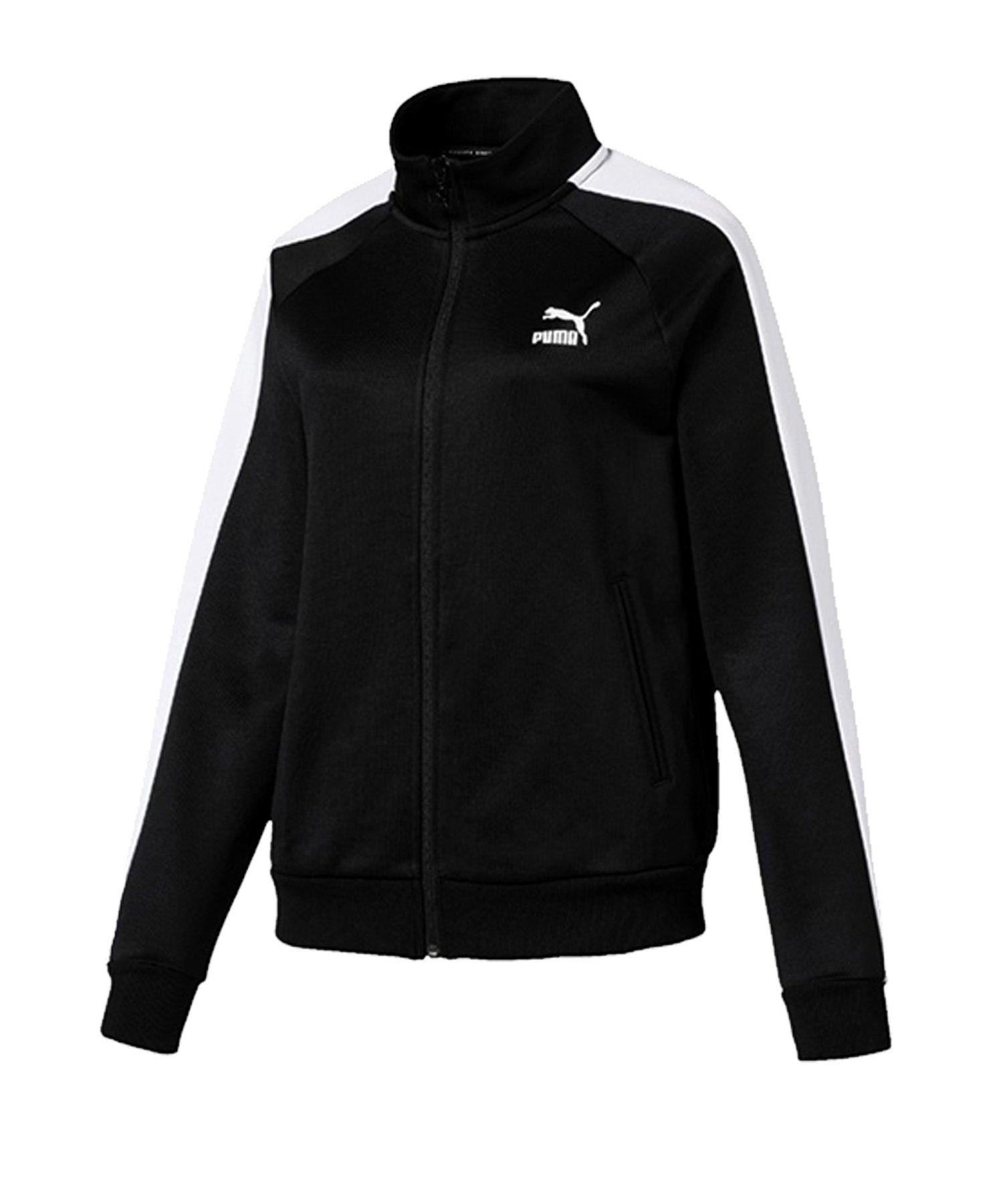 PUMA Classics T7 Track Jacket Jacke Schwarz F01 - schwarz