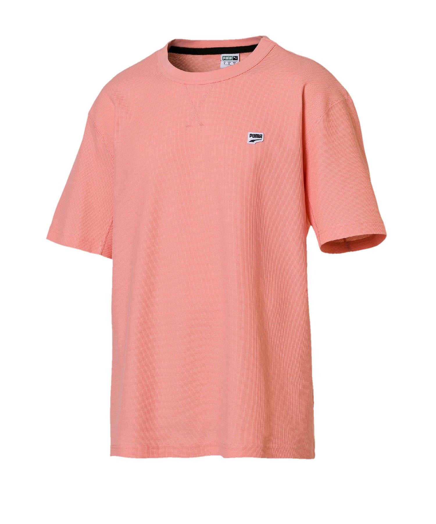 PUMA Downtown Tee T-Shirt Rosa F19 - rosa
