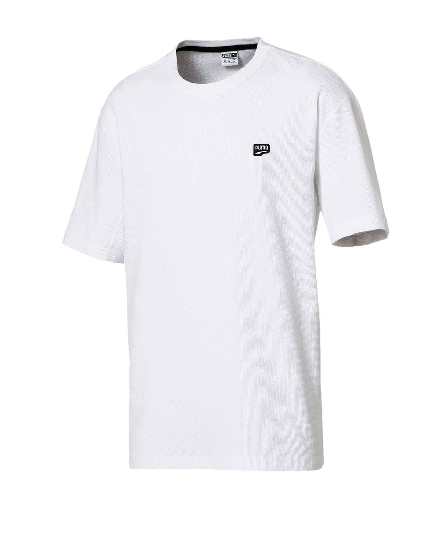PUMA Downtown Tee T-Shirt Weiss F02 - weiss