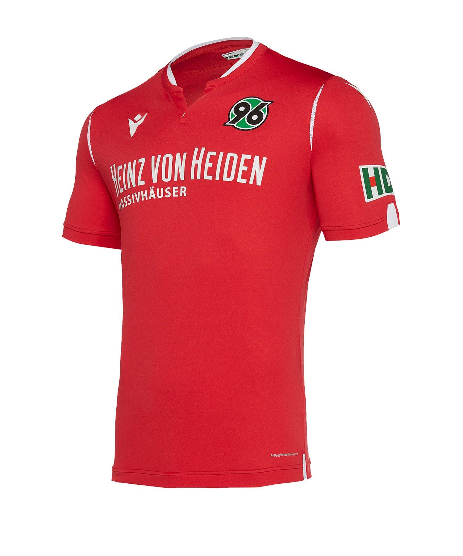 Macron Hannover 96 Trikot Home 2019/2020 Rot - rot