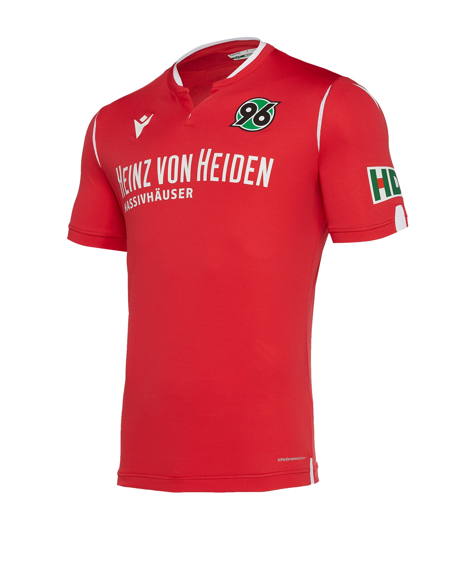 Macron Hannover 96 Trikot Home 2019/2020 Kids Rot - rot