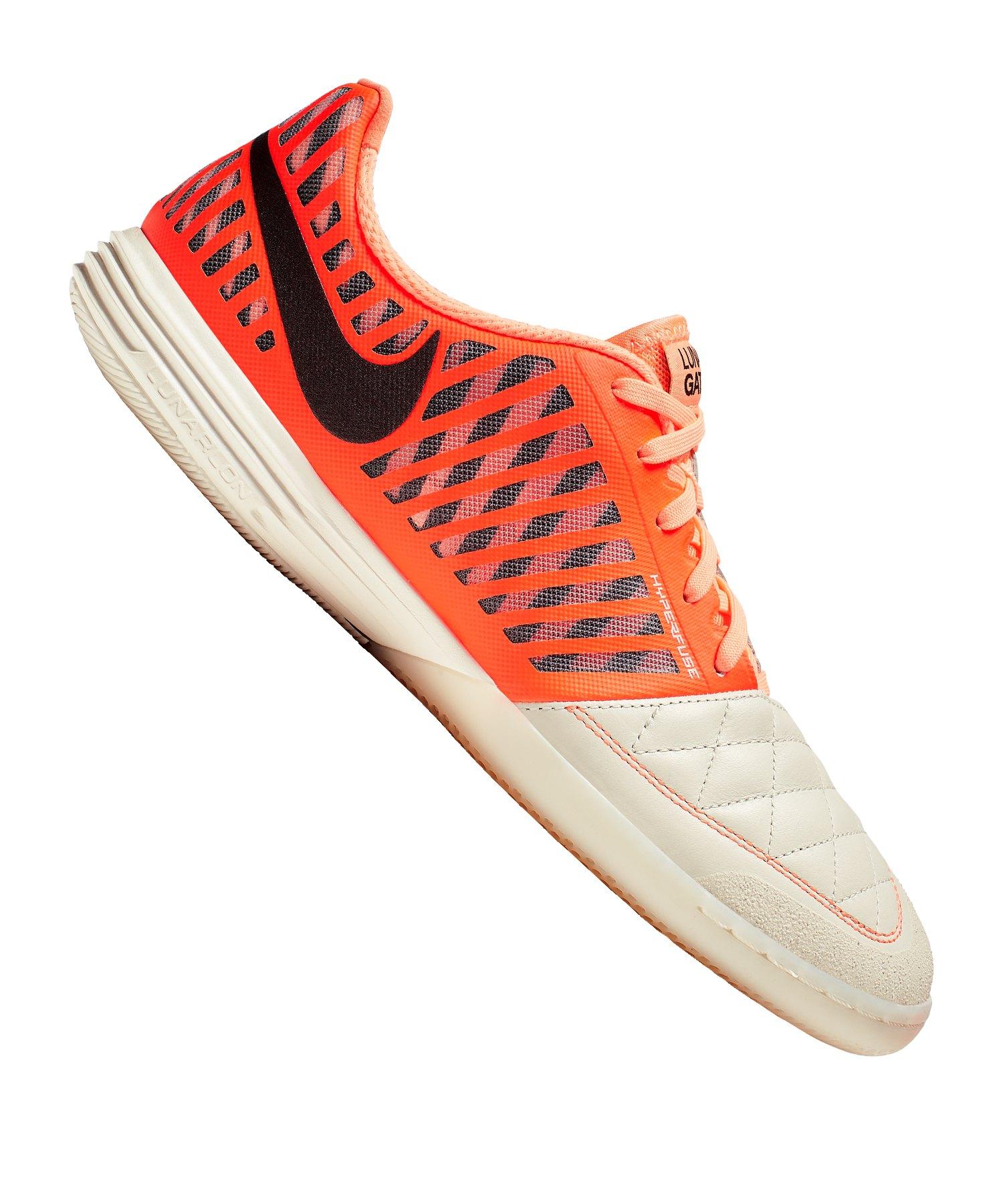 Nike 5 Five Lunar Gato II Futsal IC F128 - orange