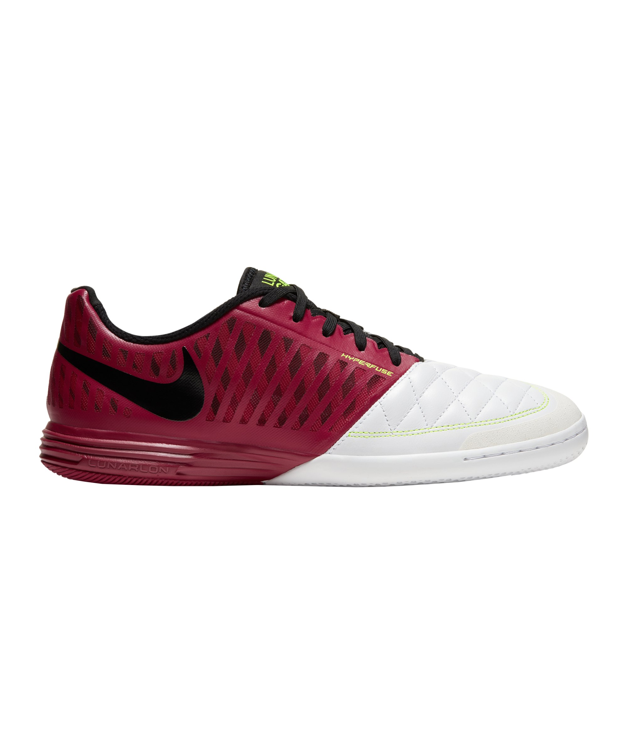 Nike 5 Five Lunar Gato II Futsal IC Rot F608 - rot