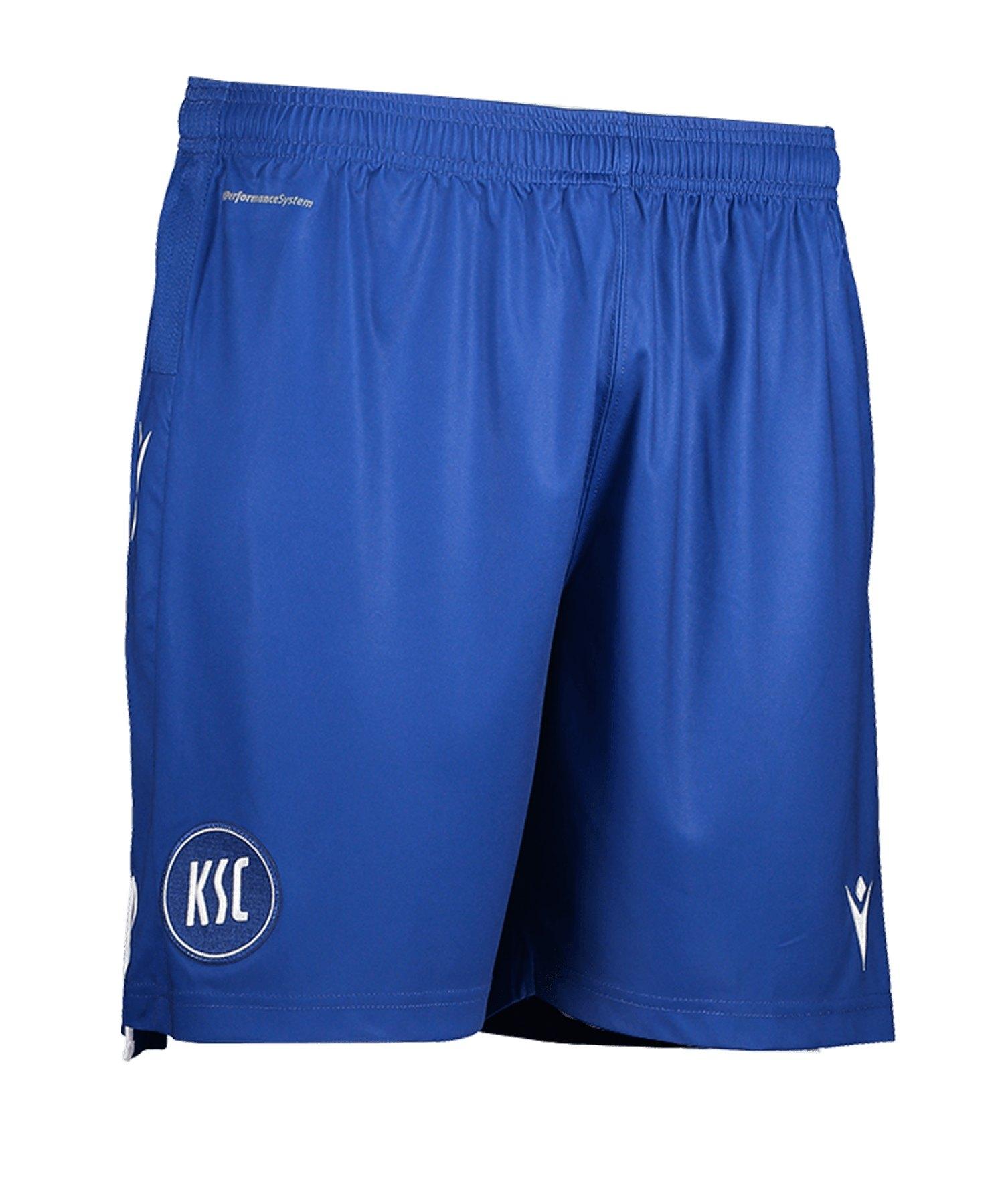 Macron Karlsruher SC Auth Short Home 19/20 Blau - blau