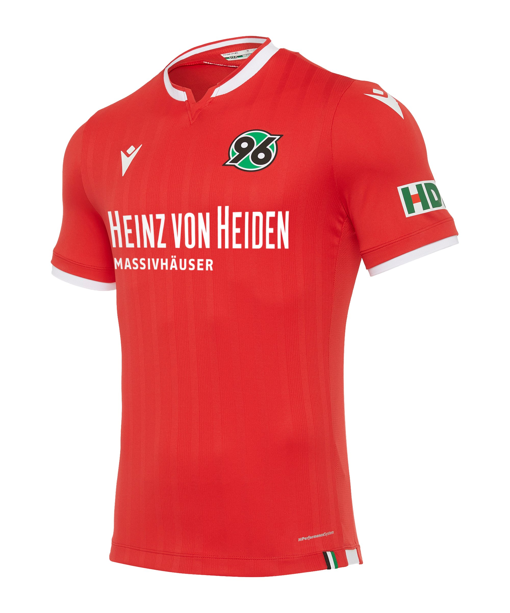 Macron Hannover 96 Trikot Home 2020/2021 Rot - rot