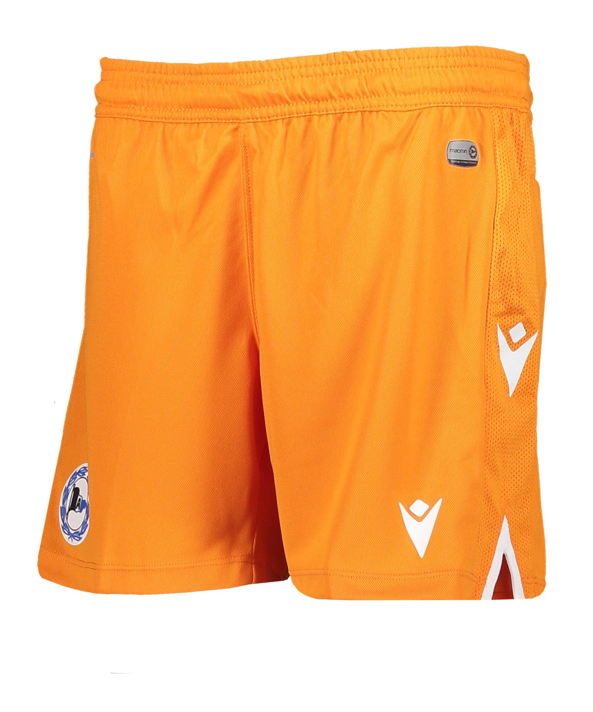 Macron Arminia Bielefeld Short 3rd 2020/2021 Kids Orange - orange