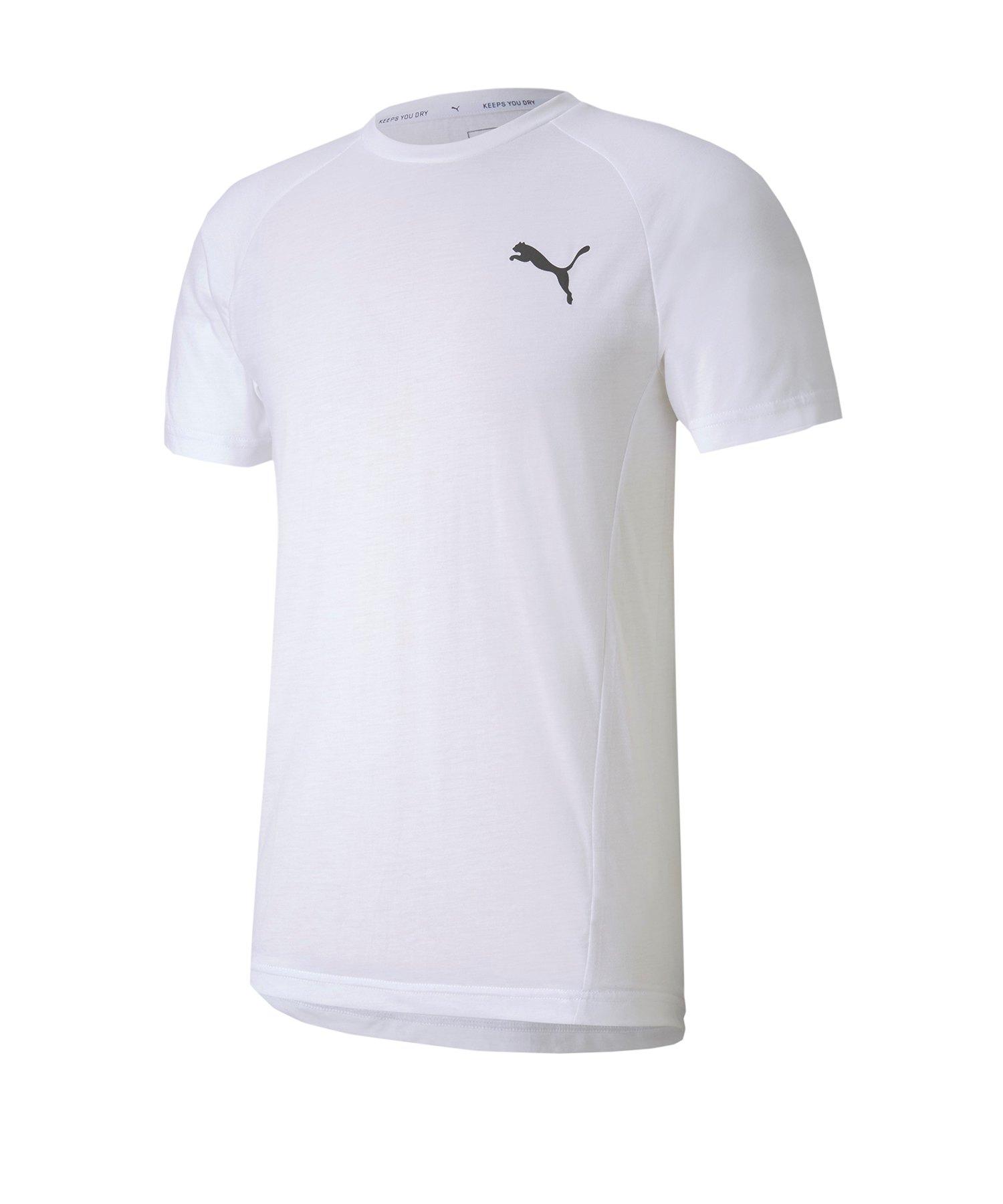 PUMA Evostripe Tee T-Shirt Weiss F02 - weiss
