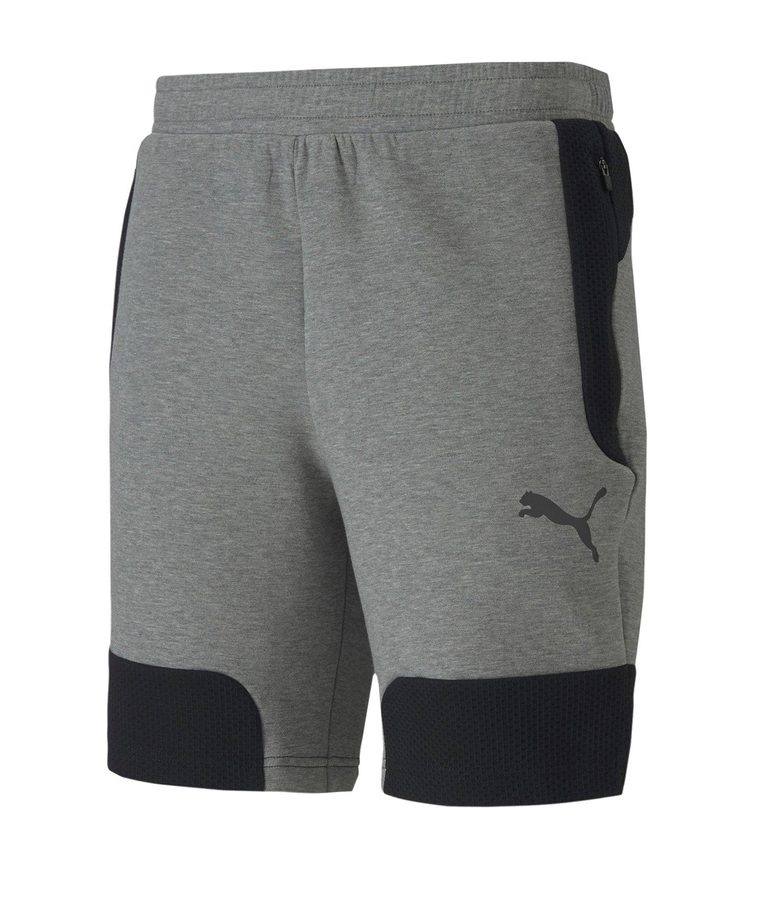 PUMA Evostripe Shorts 8 Grau F03 - grau