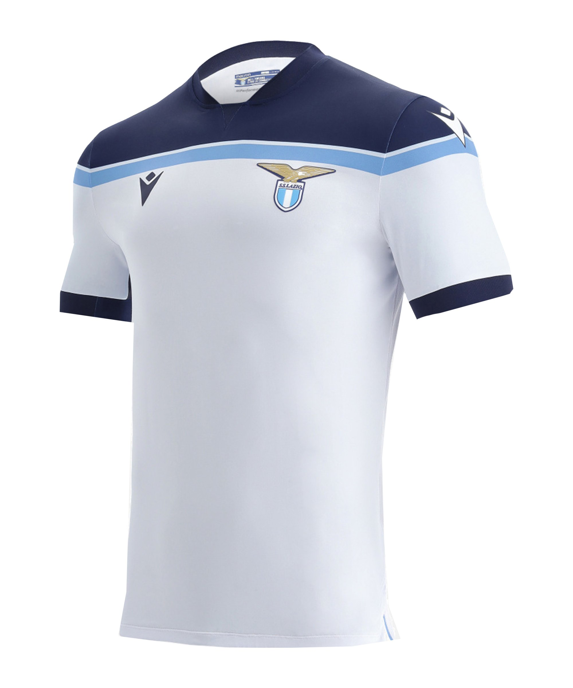 Macron Lazio Rom Trikot Away 2021/2022 Grün - weiss