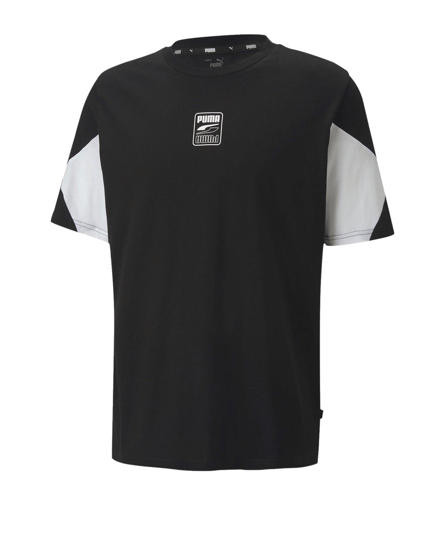 PUMA Rebel Advanced Tee T-Shirt Schwarz F01 - schwarz