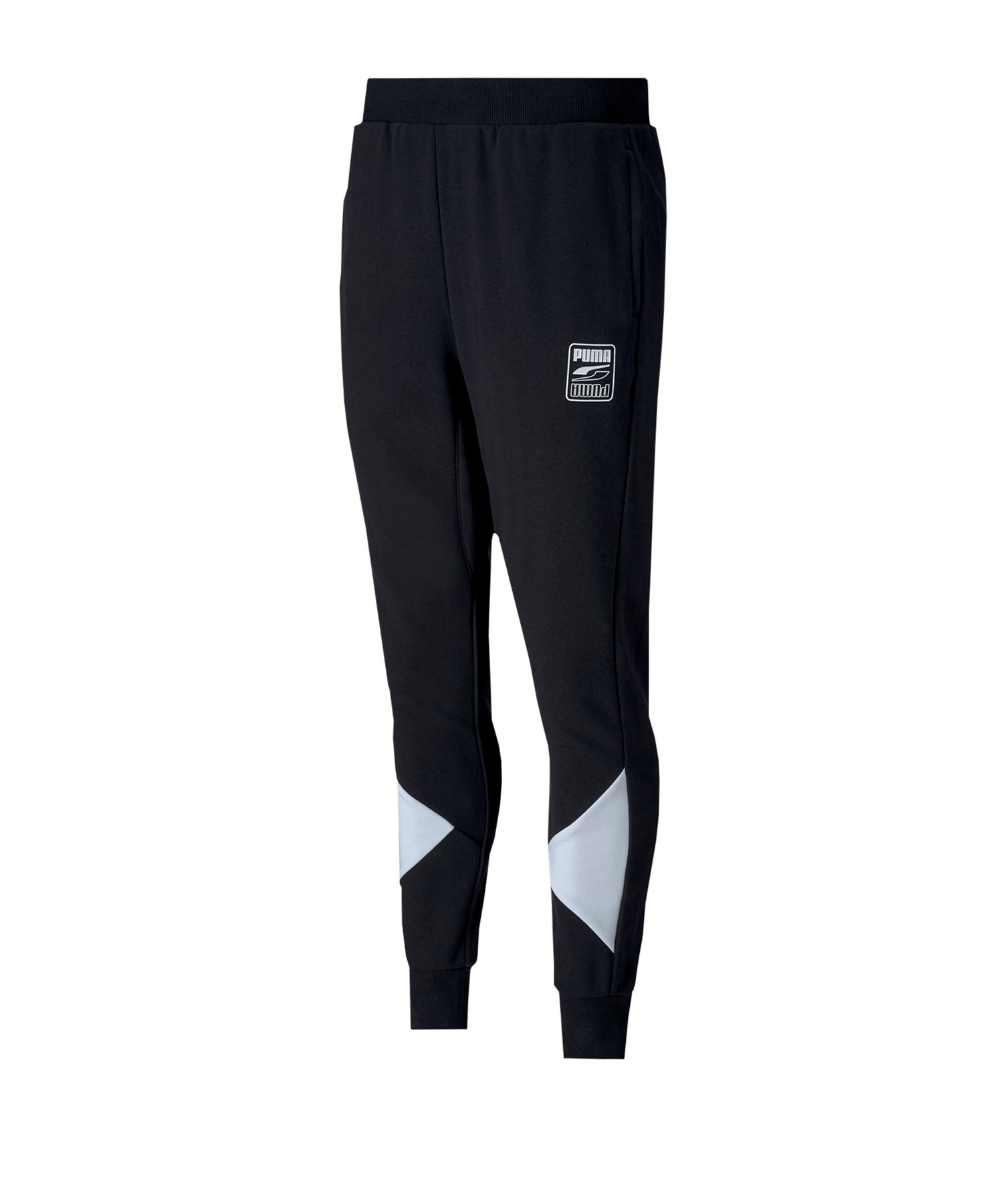 PUMA Rebel Pants Blcok TR cl Jogginghose F01 - schwarz