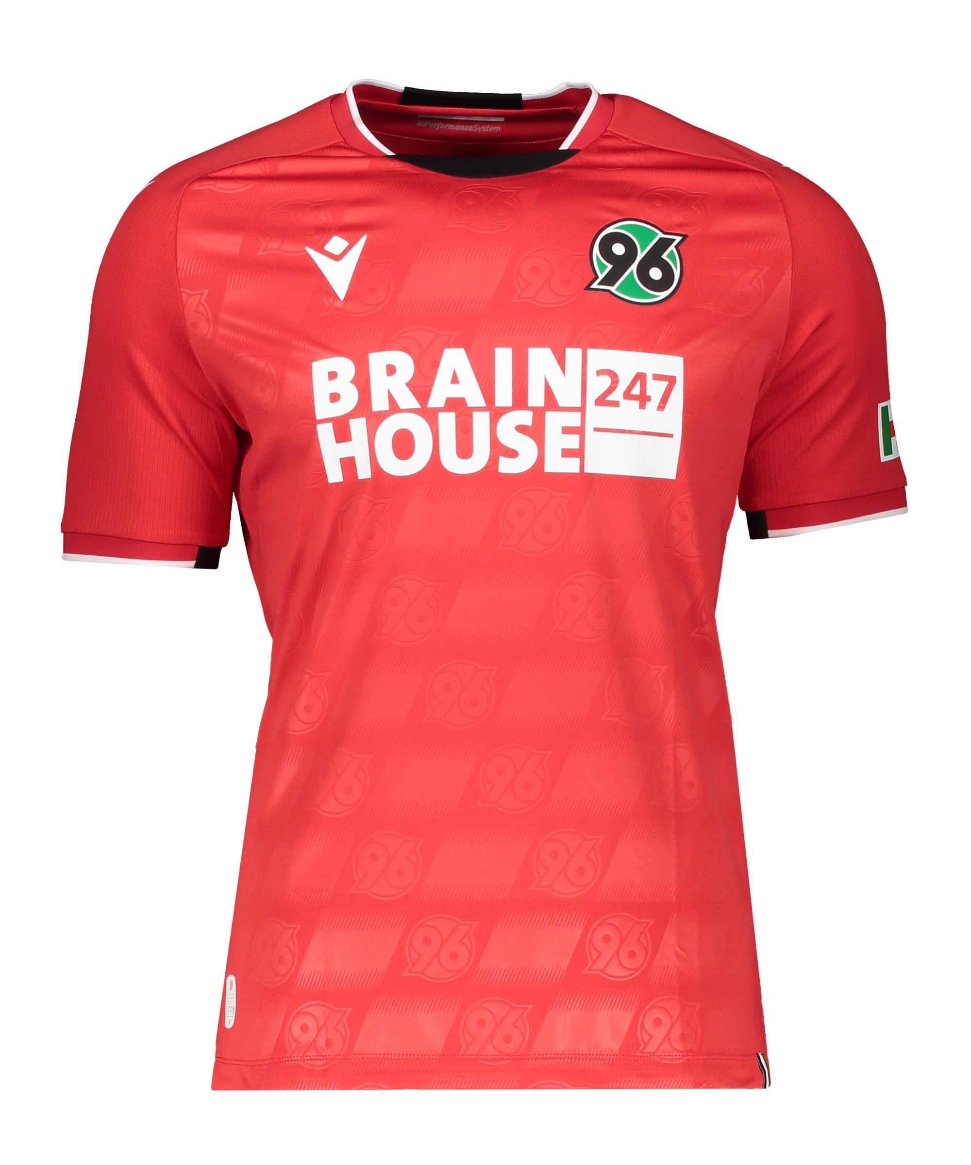 Macron Hannover 96 Authentic Trikot Home 2021/2022 Kids Rot - rot