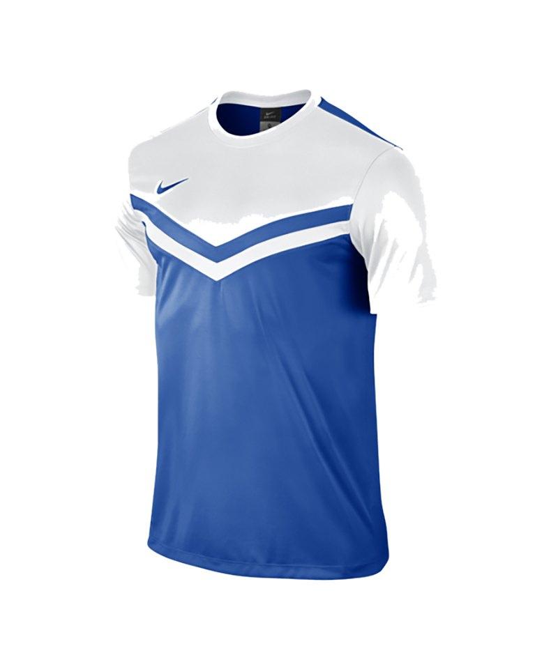 Nike Kurzarm Trikot Victory II F463 Blau Weiss - blau