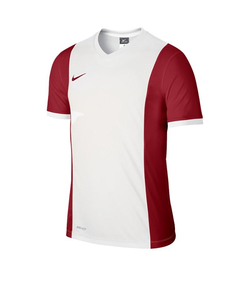 Nike Kurzarm Trikot Park Derby F106 Weiss Rot - weiss