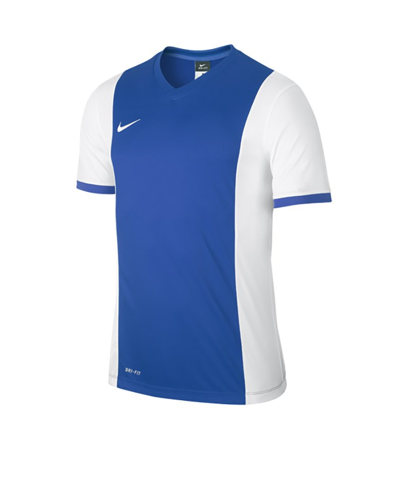 Nike Kurzarm Trikot Park Derby F463 Blau Weiss - blau