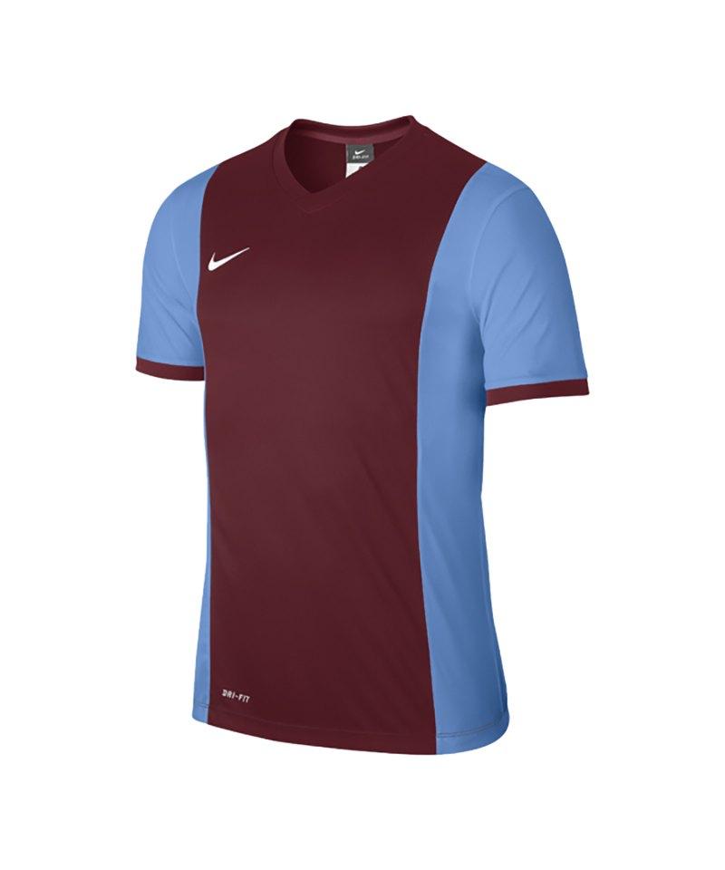 Nike Kurzarm Trikot Park Derby F677 Rot Blau - rot