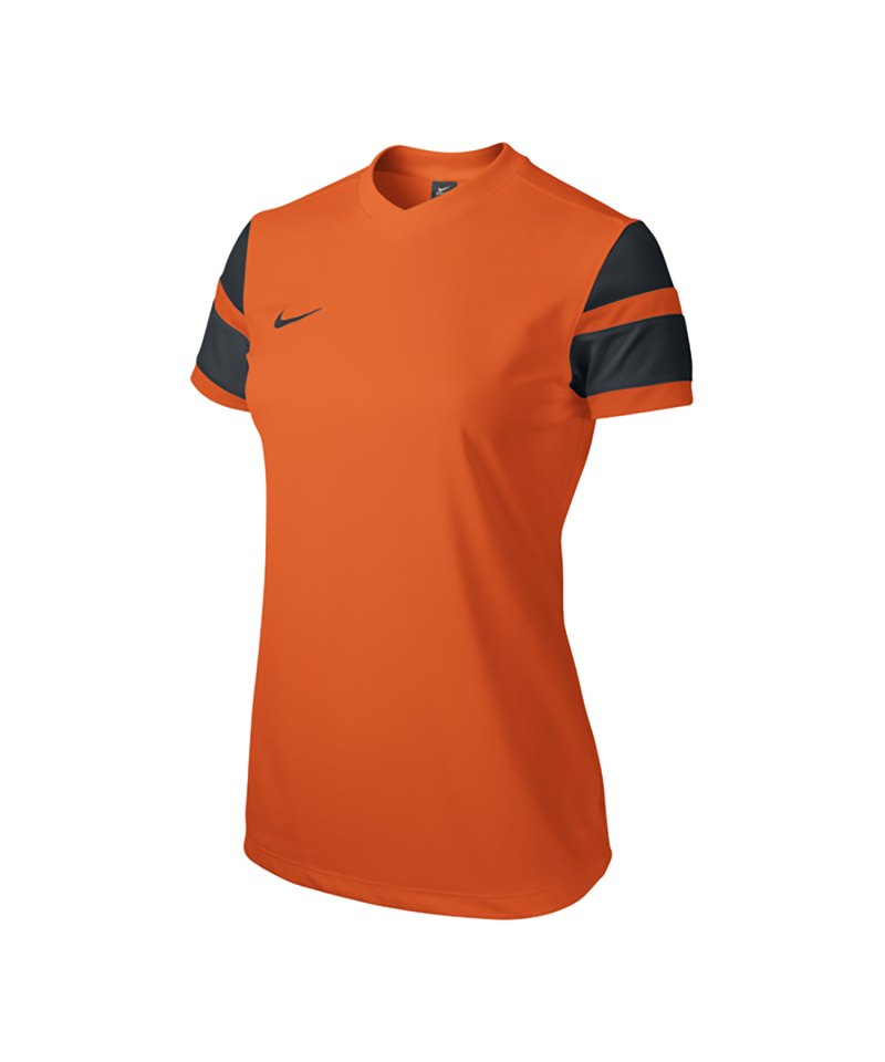 Nike Kurzarm Trikot Trophy II Damen F815 Orange - orange