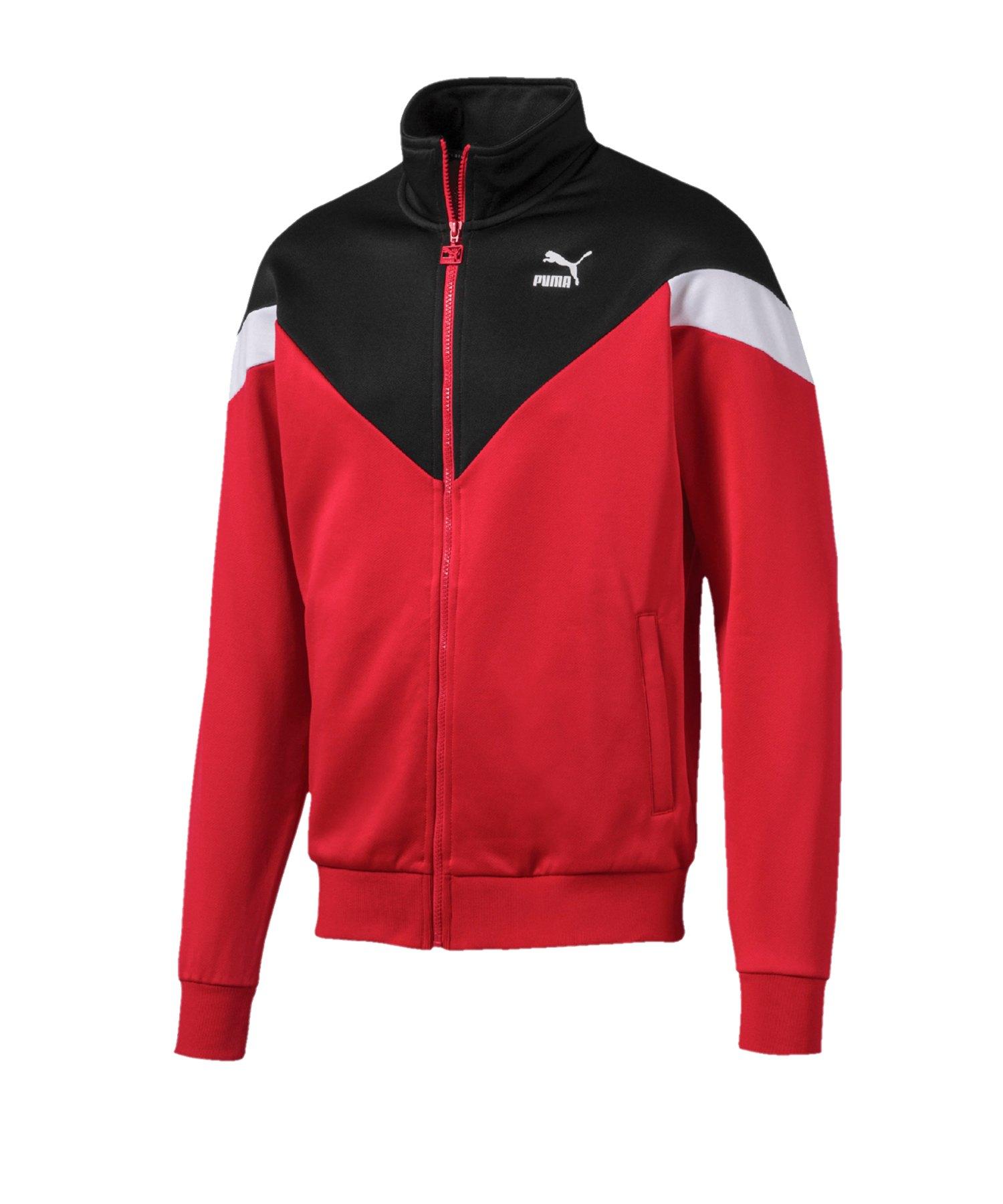 PUMA Iconic MCS Track Jacket Jacke Rot F11 - Rot