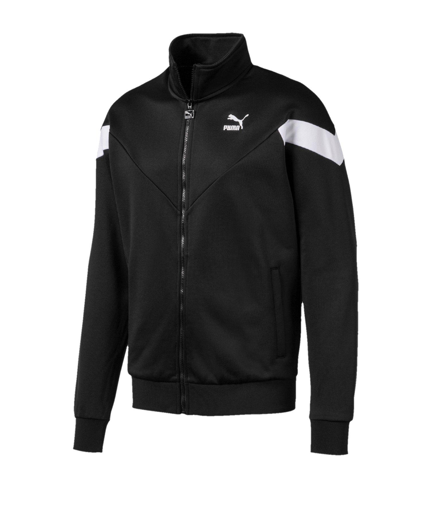 PUMA Iconic MCS Track Jacket Jacke Schwarz F01 - Schwarz