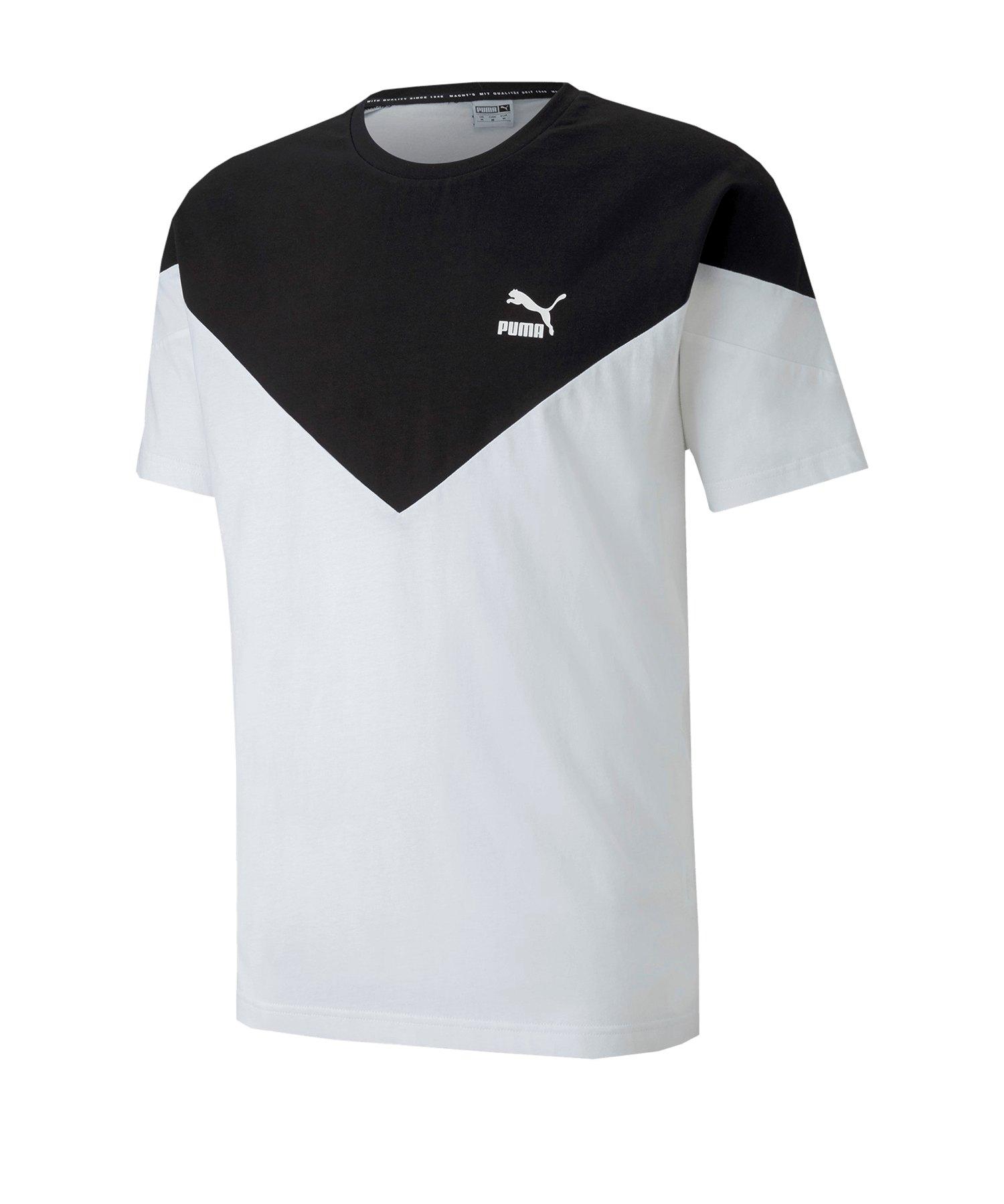 PUMA Iconic MCS T-Shirt Weiss F02 - weiss