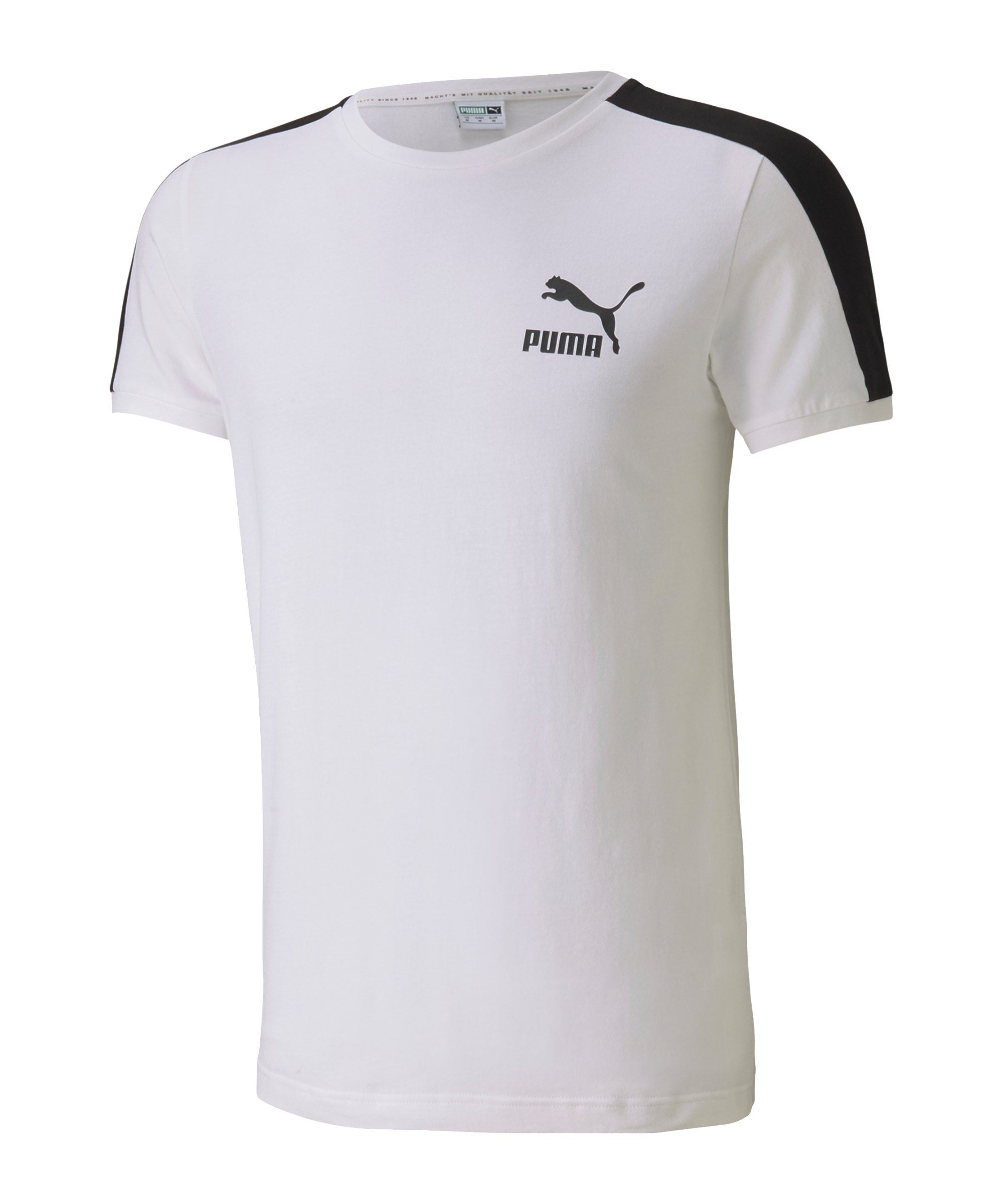 PUMA Iconic T7 Slim Tee T-Shirt Weiss F02 - weiss