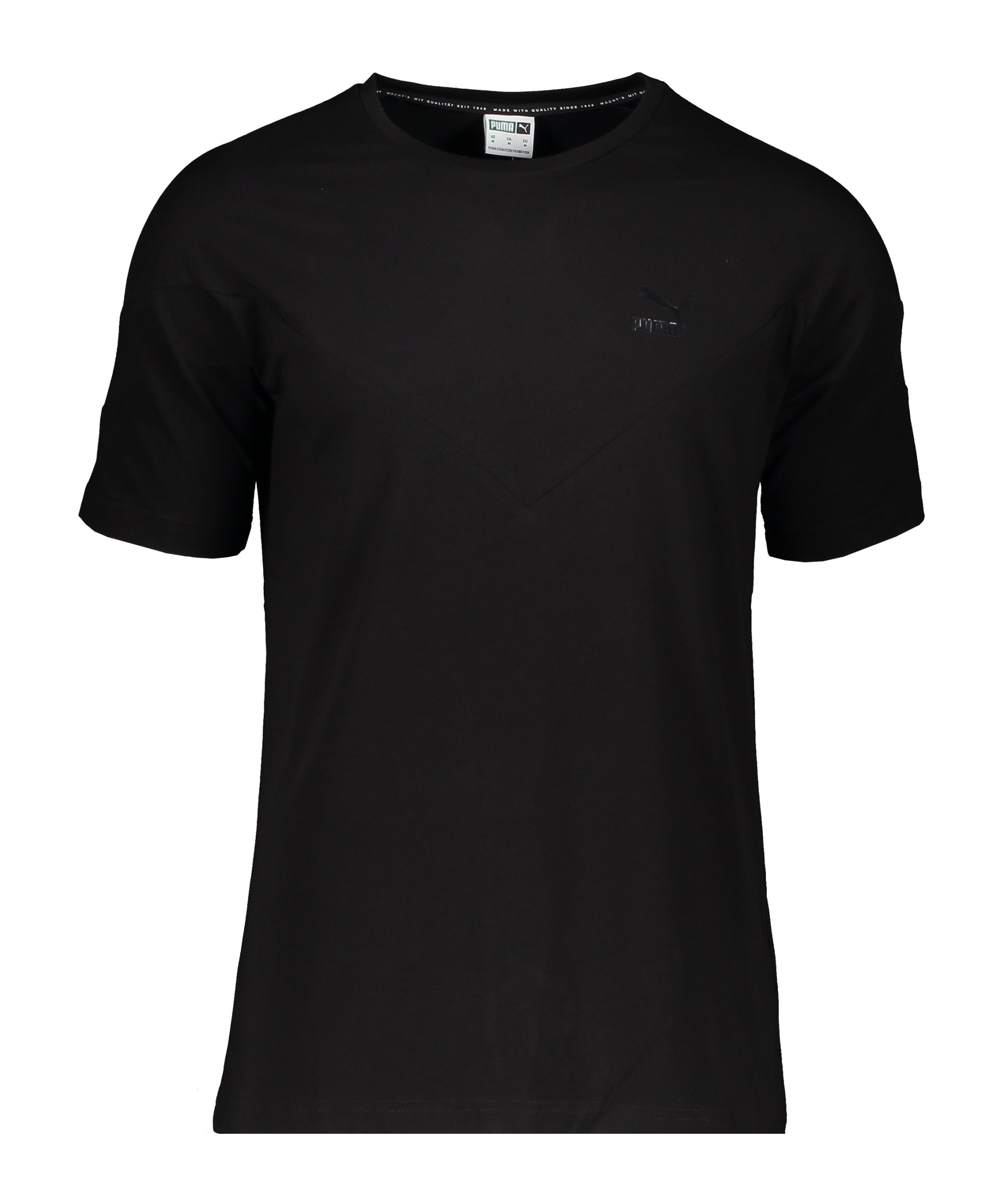 PUMA Iconic MCS T-Shirt Schwarz F51 - schwarz