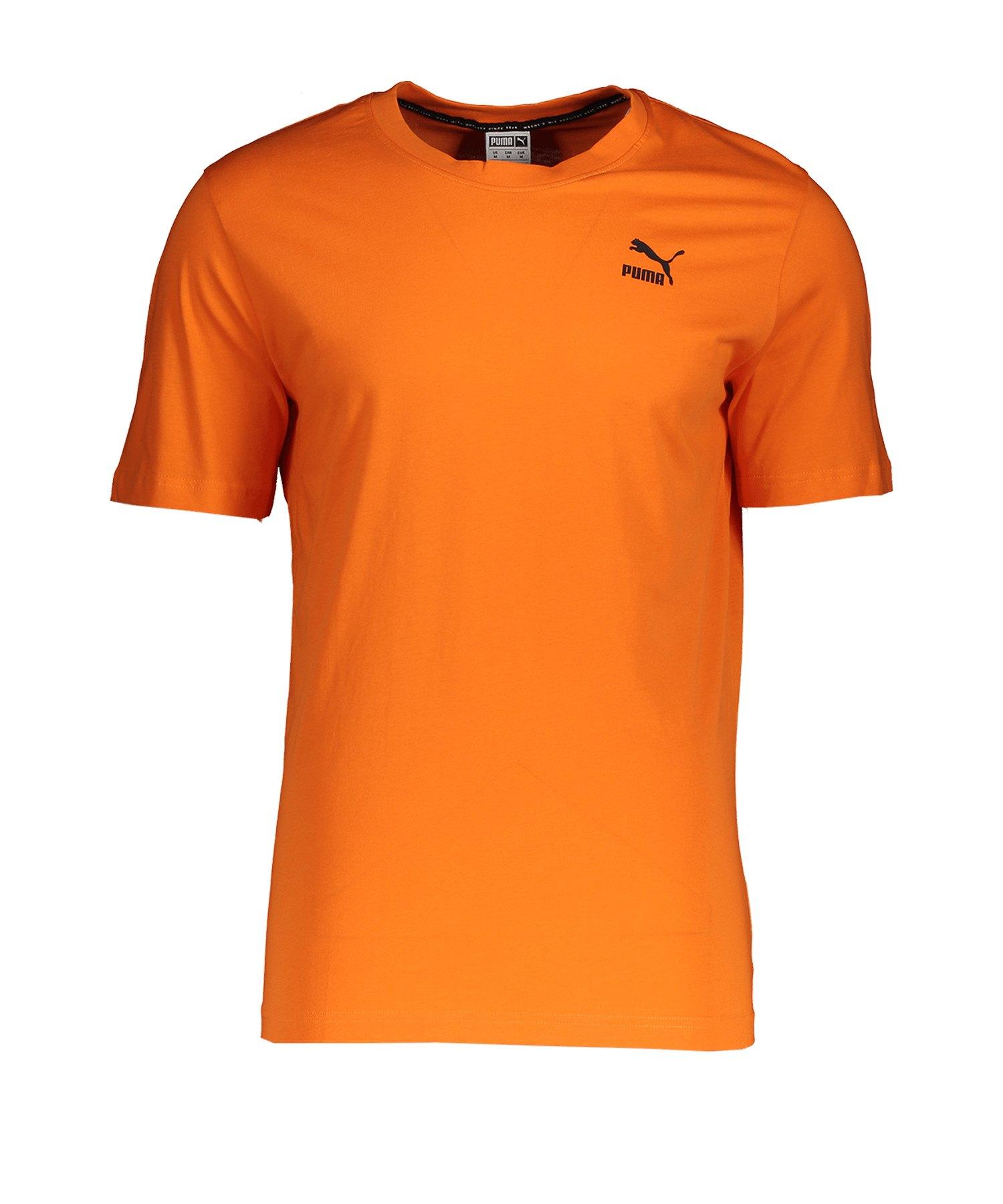PUMA Recheck Pack Graphic T-Shirt Orange F80 - orange