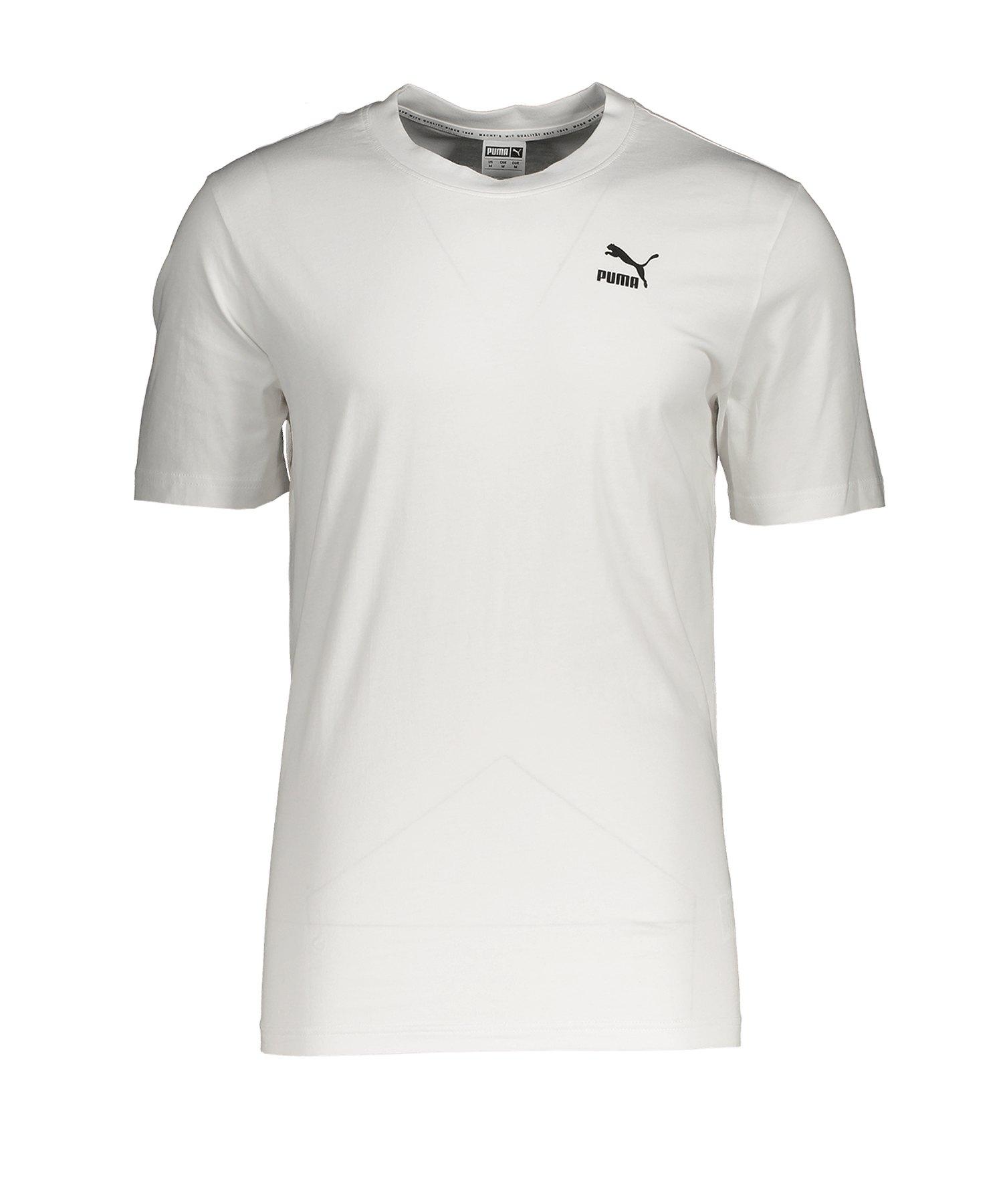 PUMA Recheck Pack Graphic T-Shirt Weiss F02 - weiss
