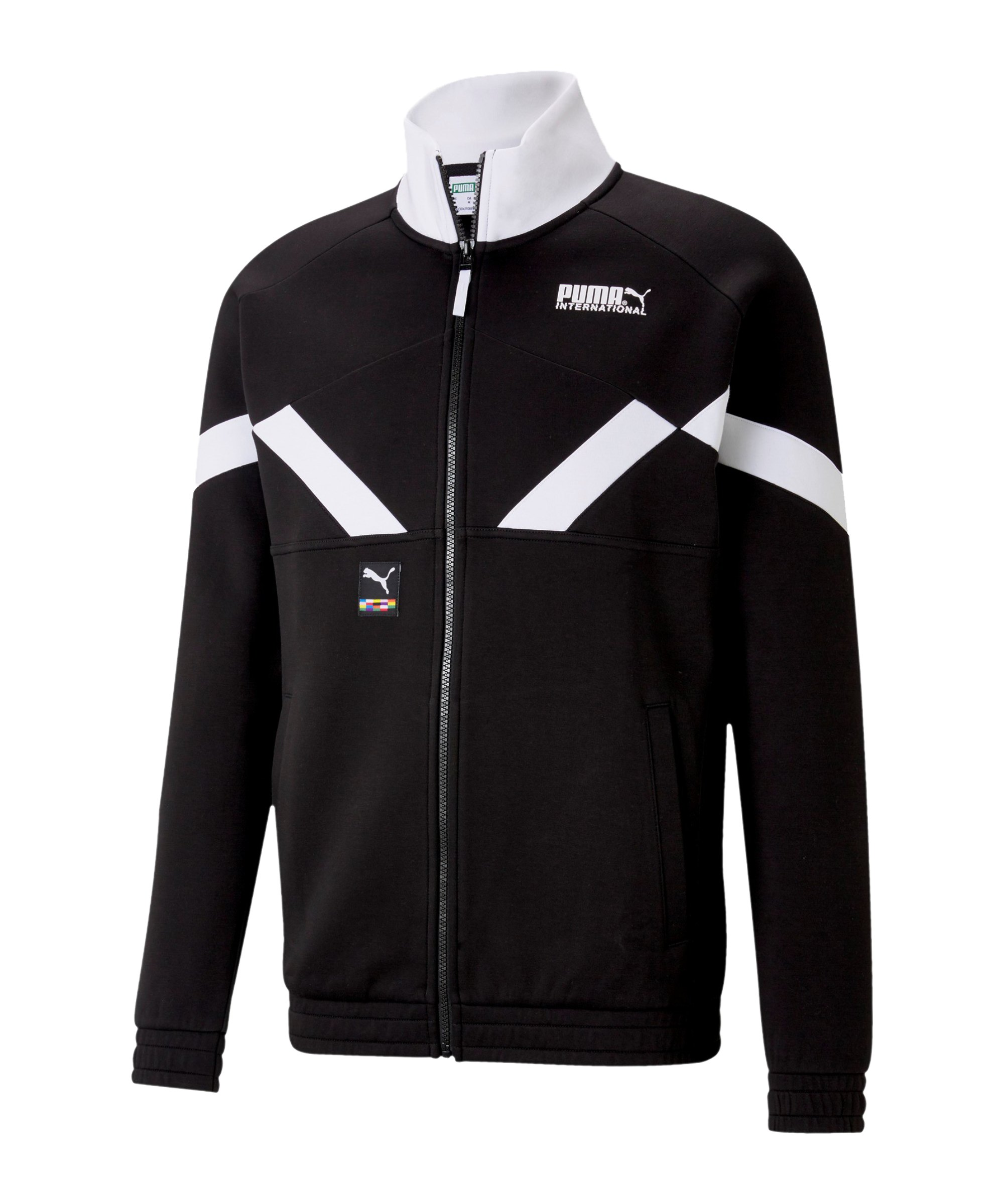 PUMA INTL Trainingsjacke Schwarz F01 - schwarz