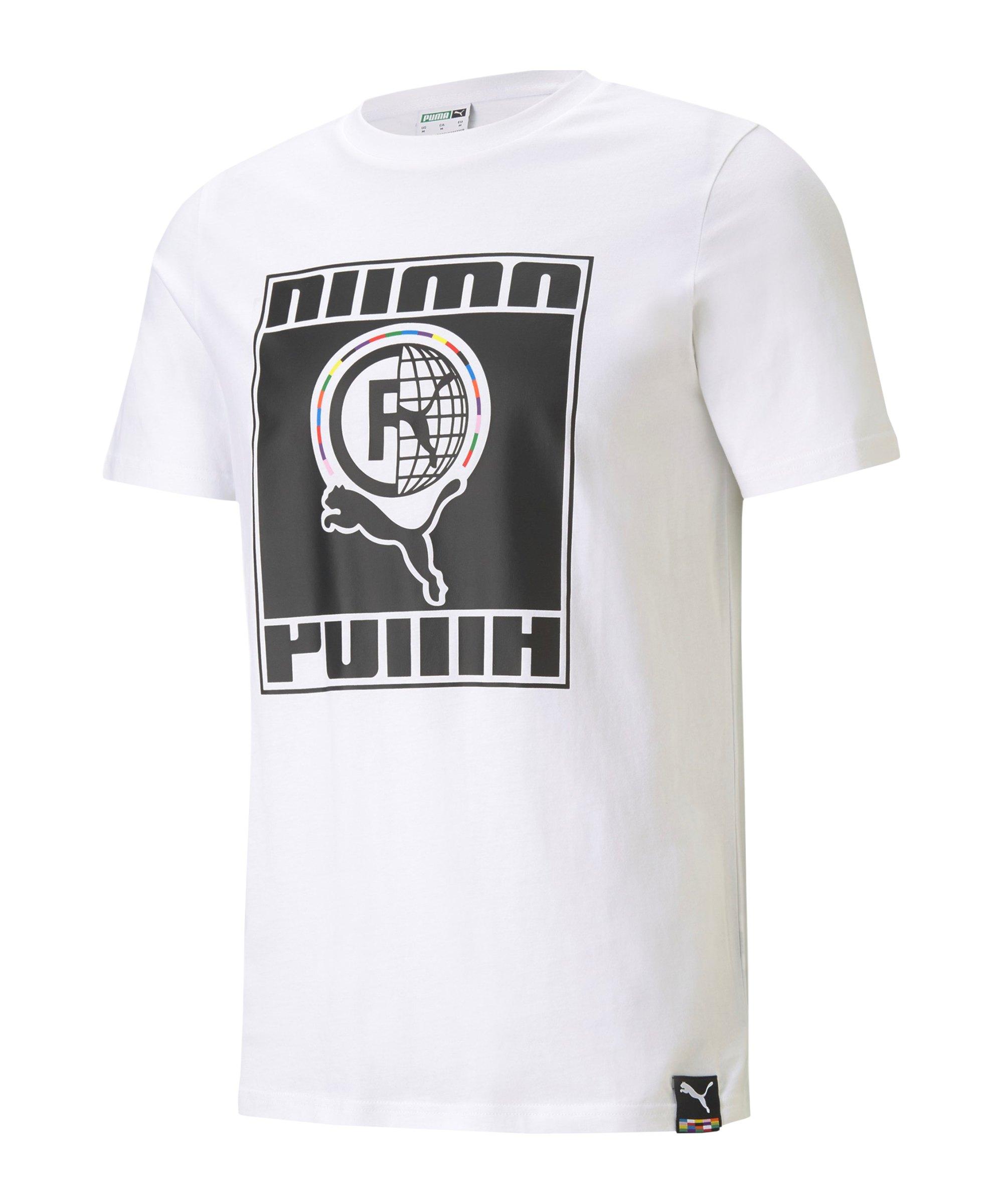 PUMA INTL T-Shirt Weiss F02 - weiss