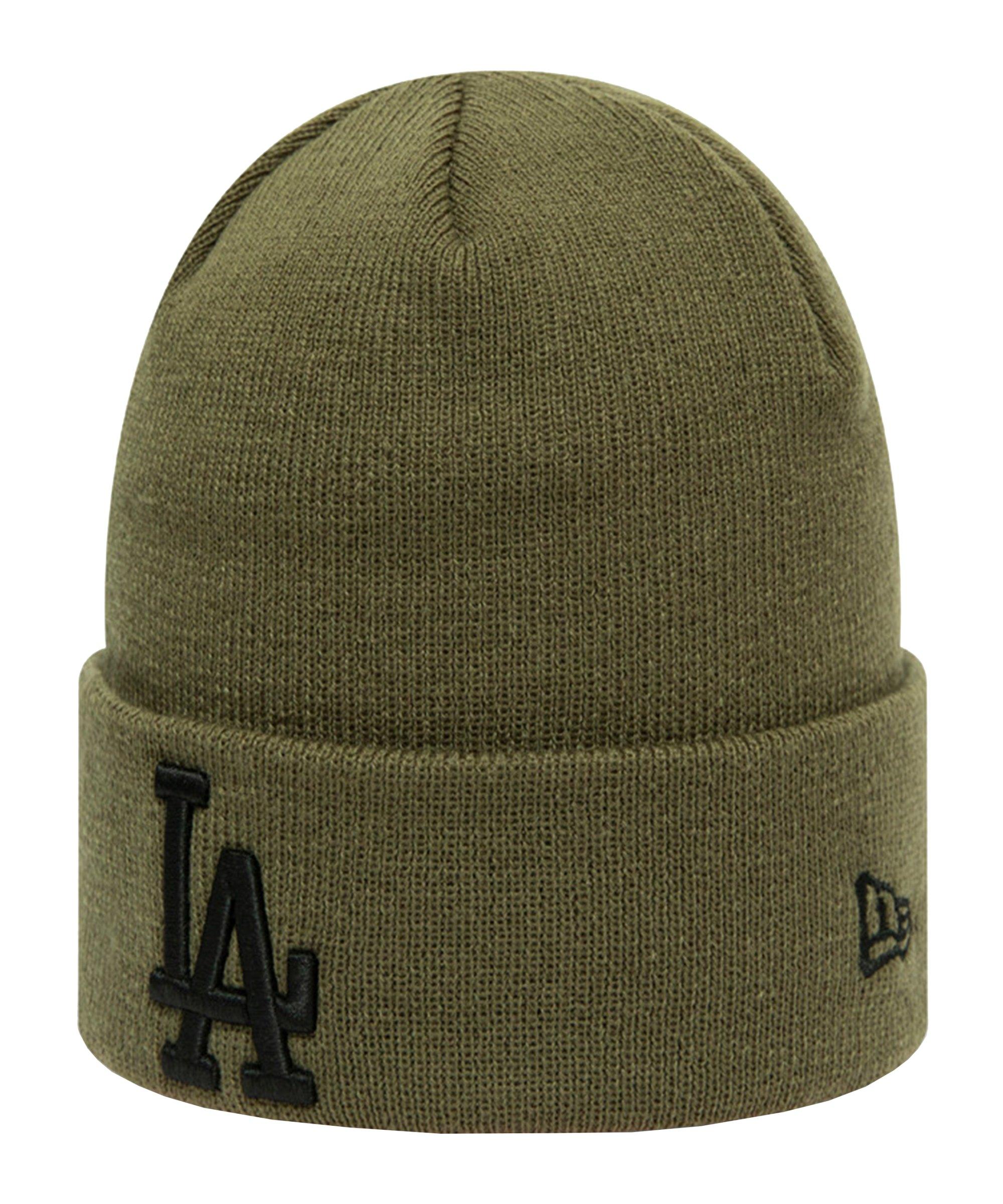 New Era LA Dodgers Cuff Beanie Grün FNOV - gruen