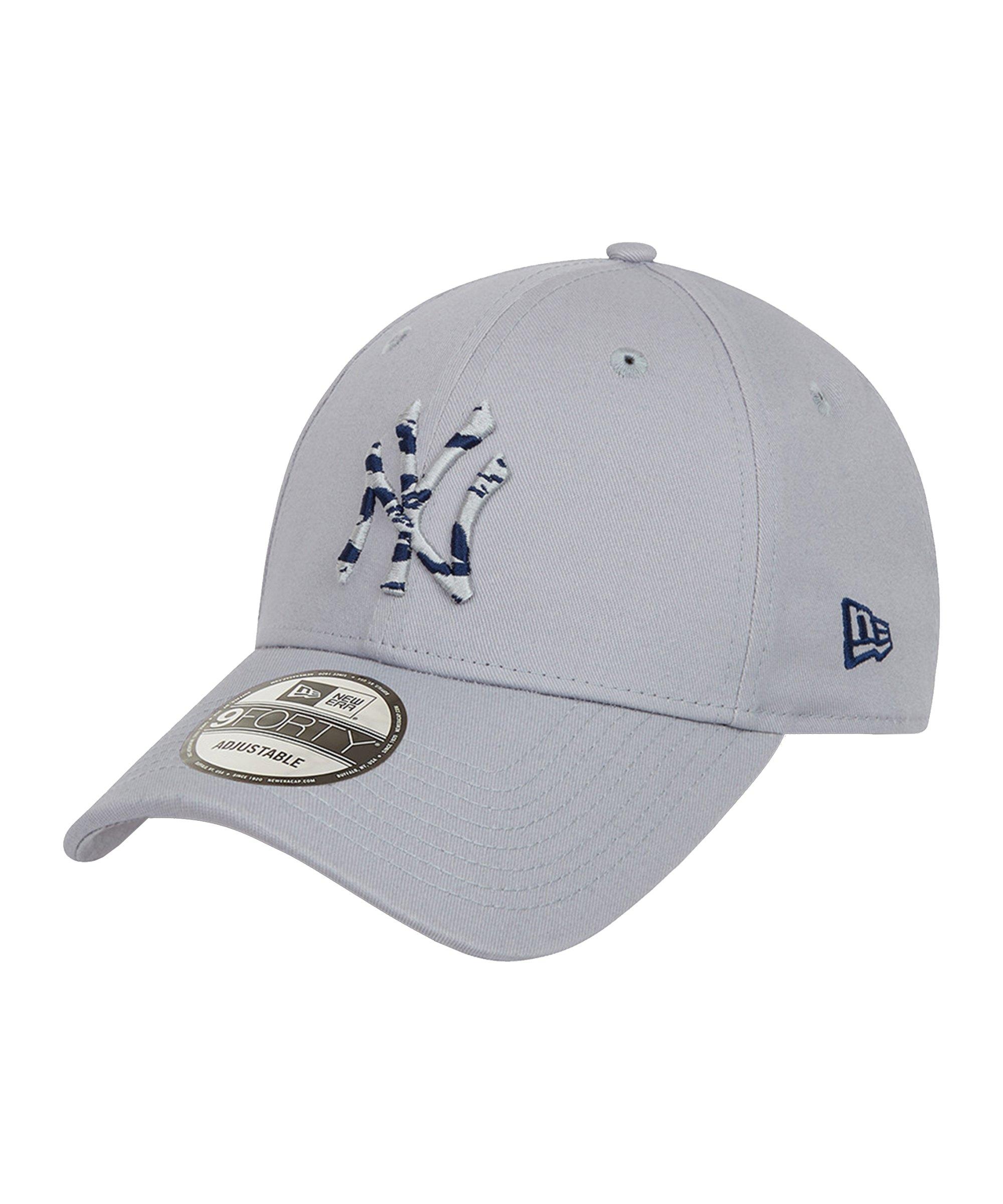 New Era NY Yankees Infill 940 Cap Grau FGRA - grau