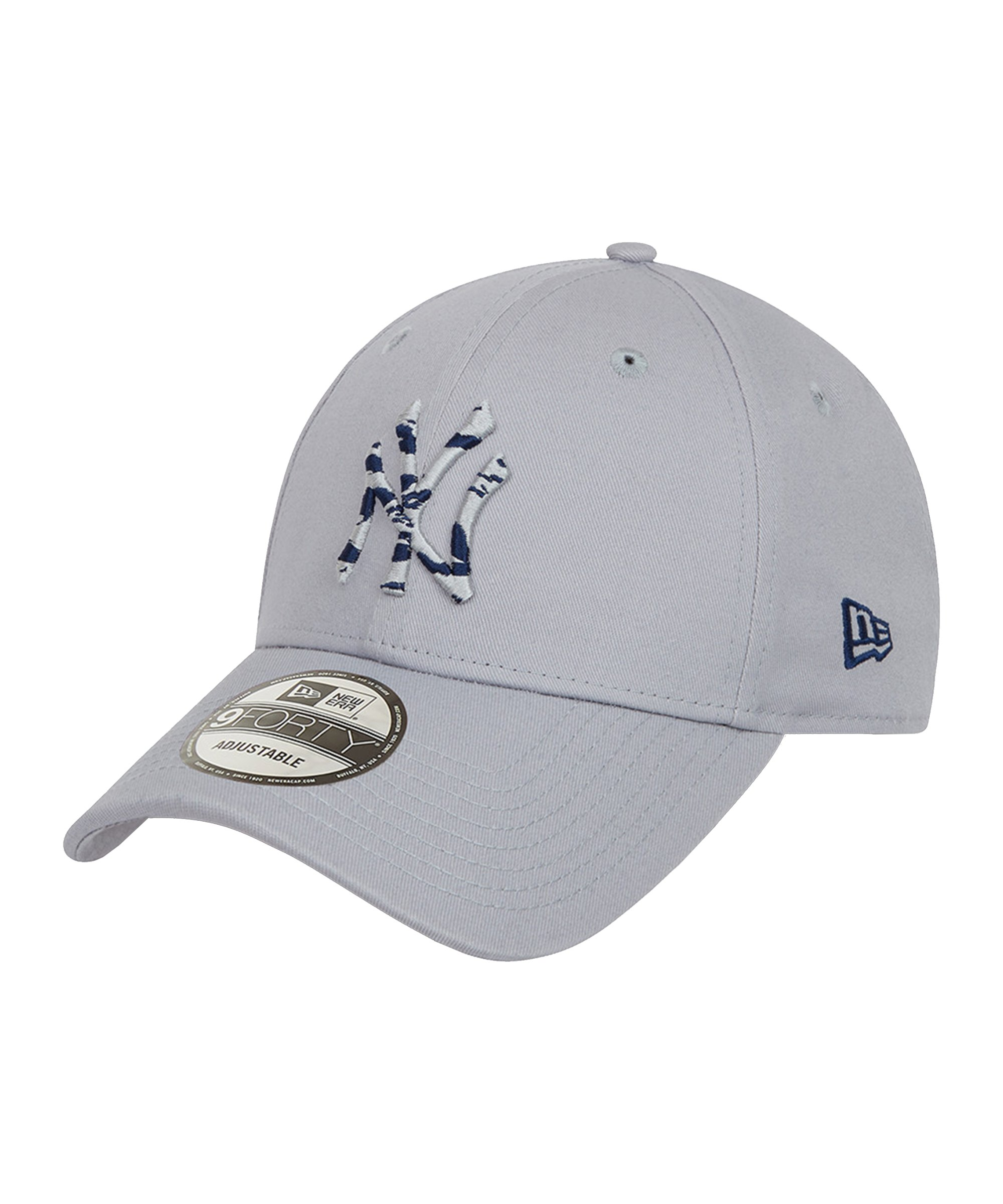 New Era NY Yankees Infill 9Forty Cap Grau FGRA - grau