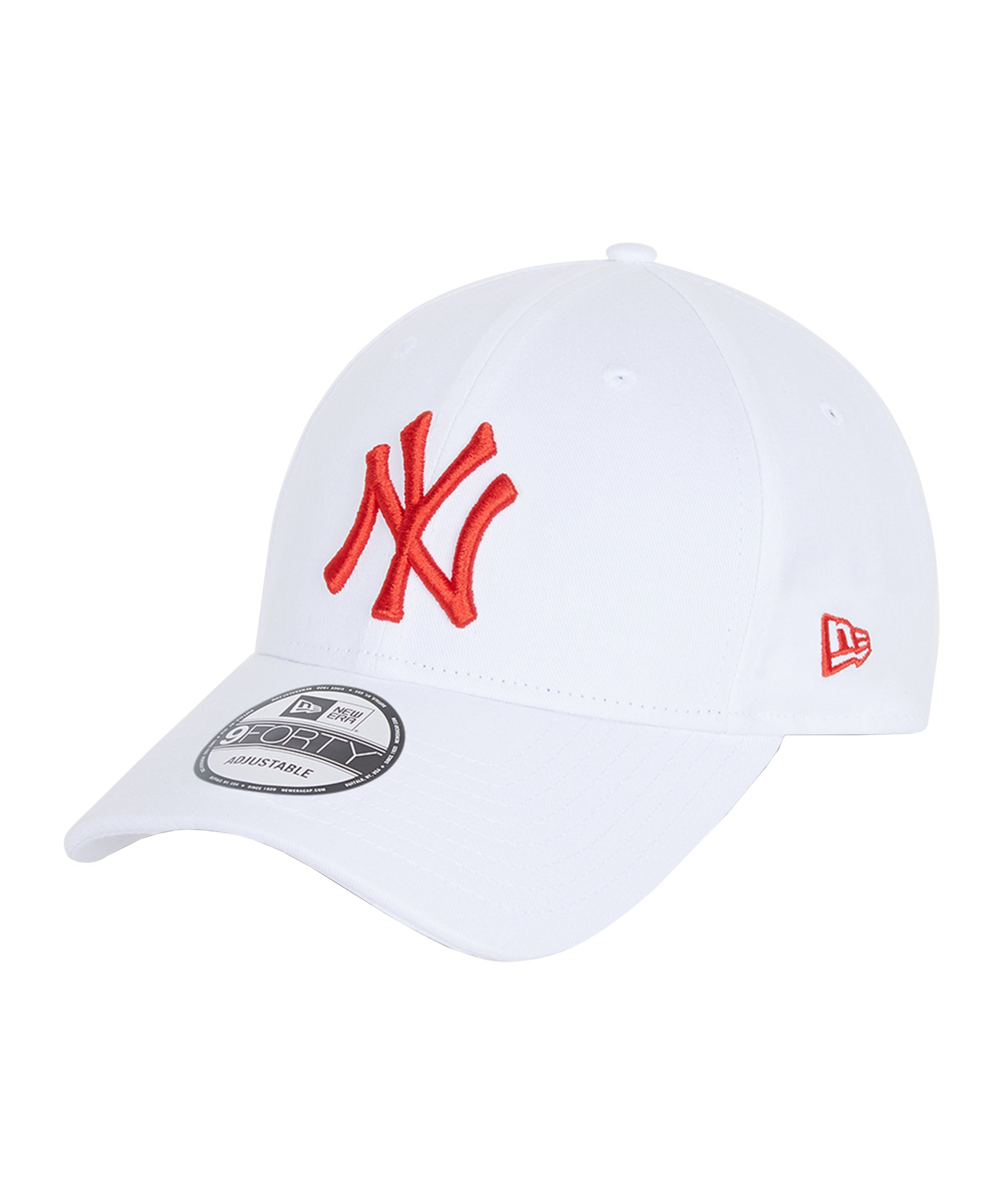 New Era NY Yankees 9Forty Essential Cap Weiss - weiss