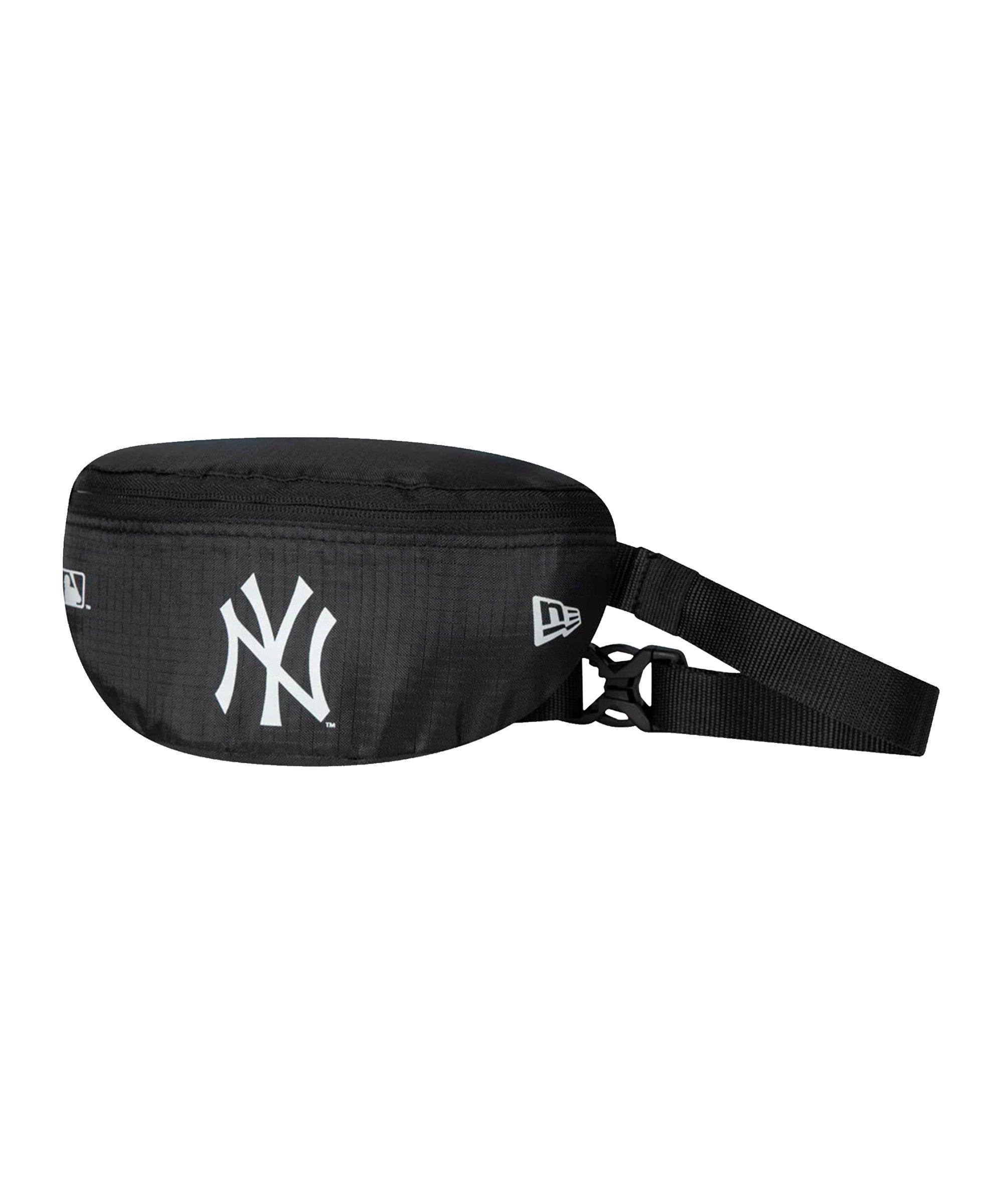 New Era NY Yankees Mini Waist Bag Schwarz FBLKWHI - schwarz