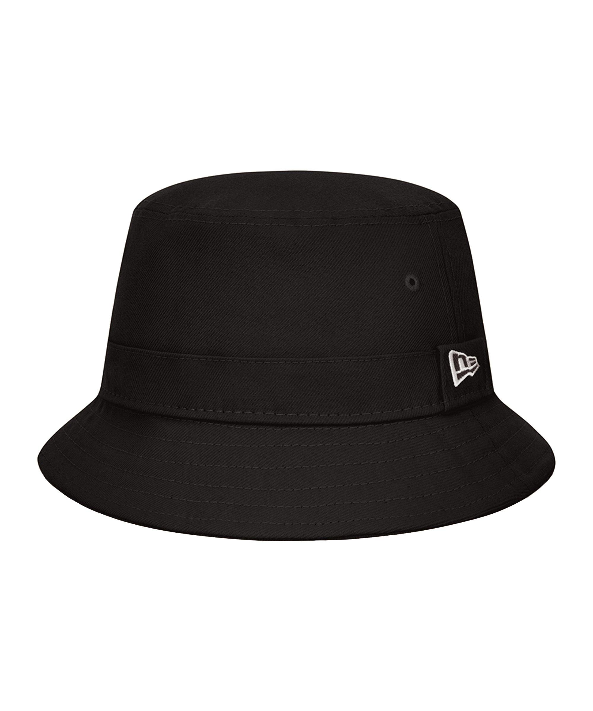 New Era Essential Bucket Hat Schwarz FBLK - schwarz