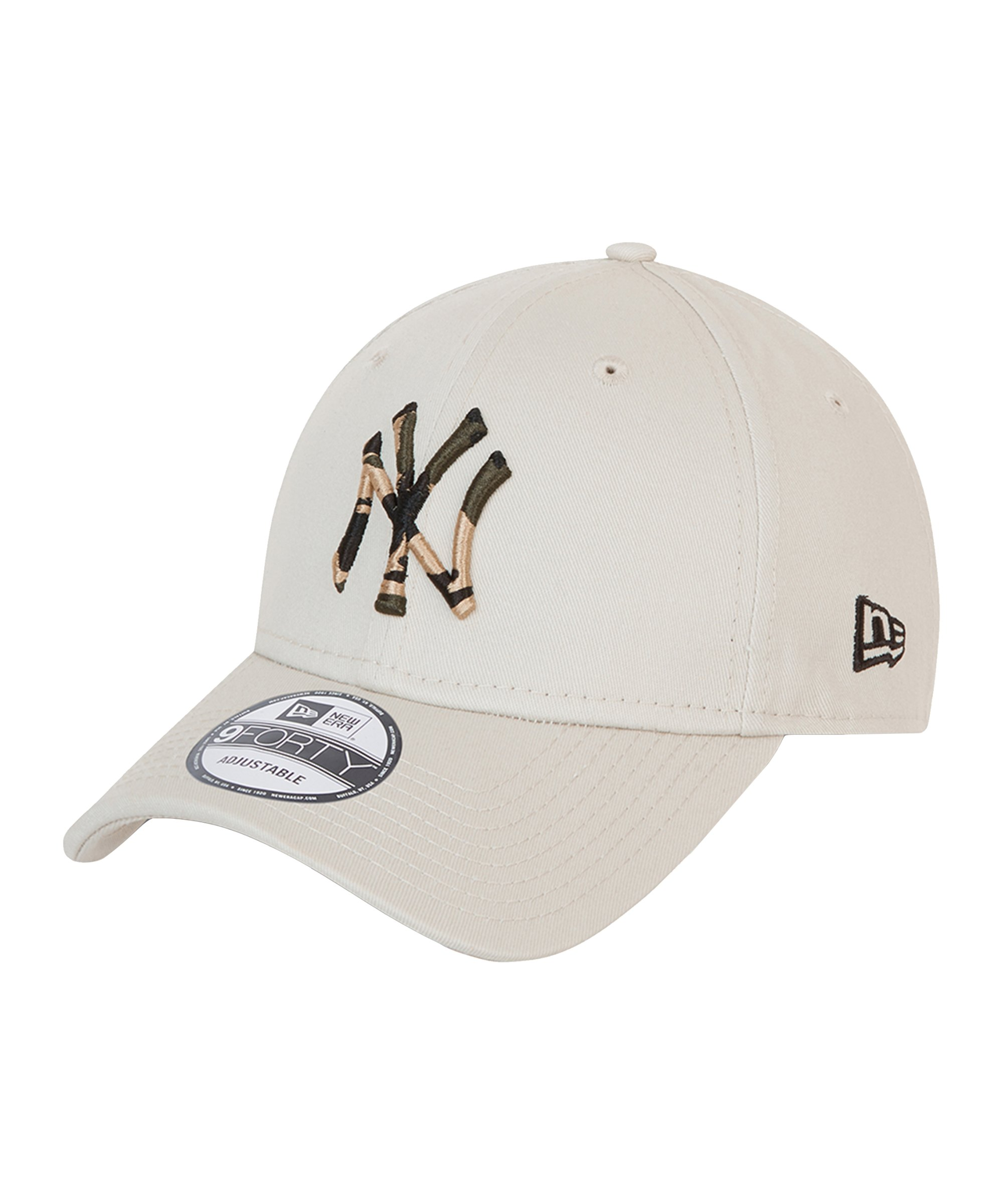 New Era NY Yankees 9Forty Infill Cap Beige FSTN - beige